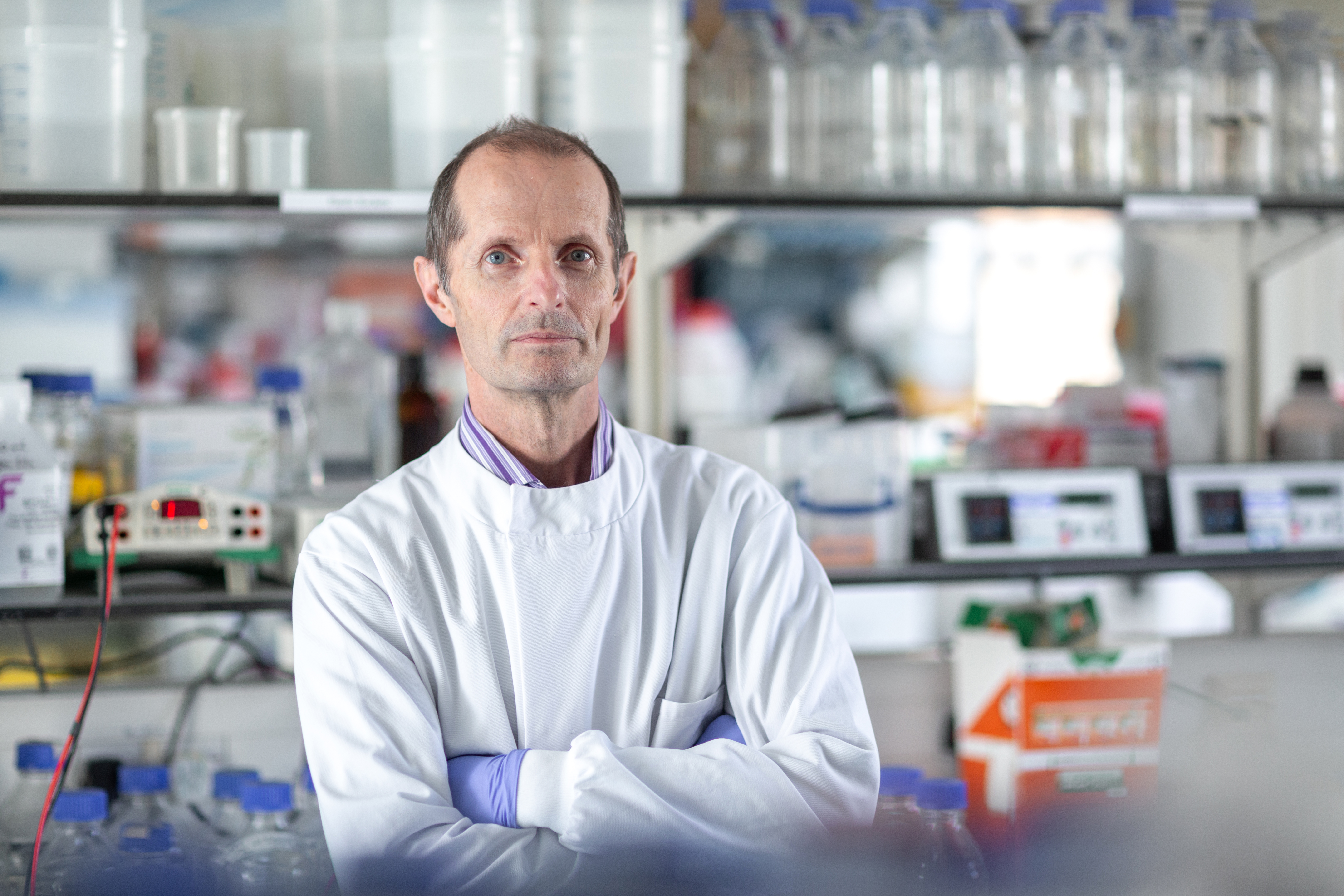 Professor Robin Shattock, from the department of infectious disease at Imperial who is leading the research