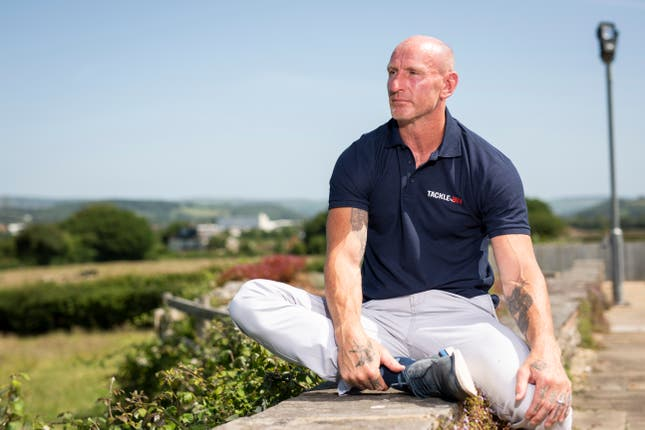 Gareth Thomas has started a new Tackle HIV campaign alongside ViiV Healthcare