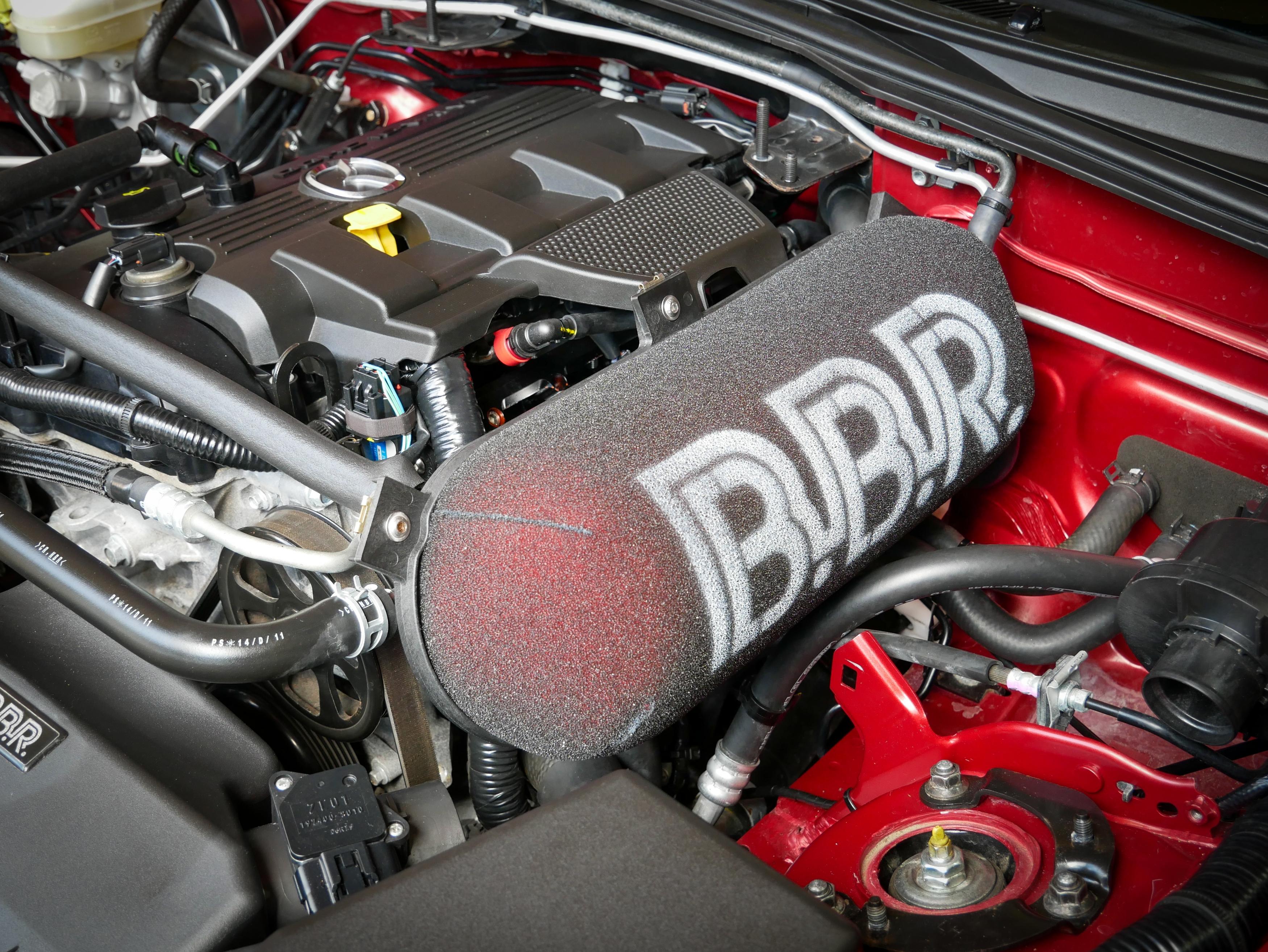 BBR engine shot