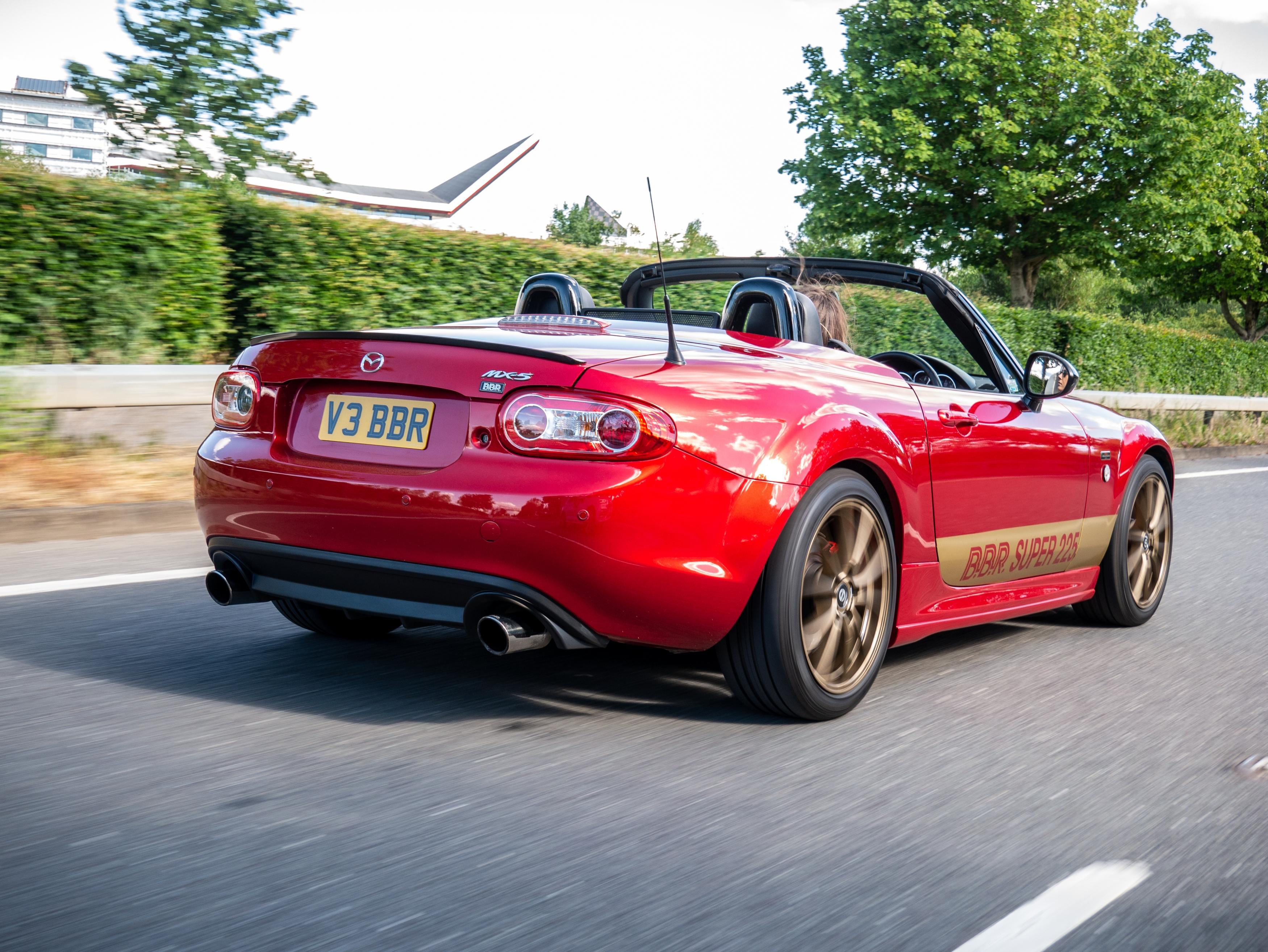 BBR MX-5 rear dynamic