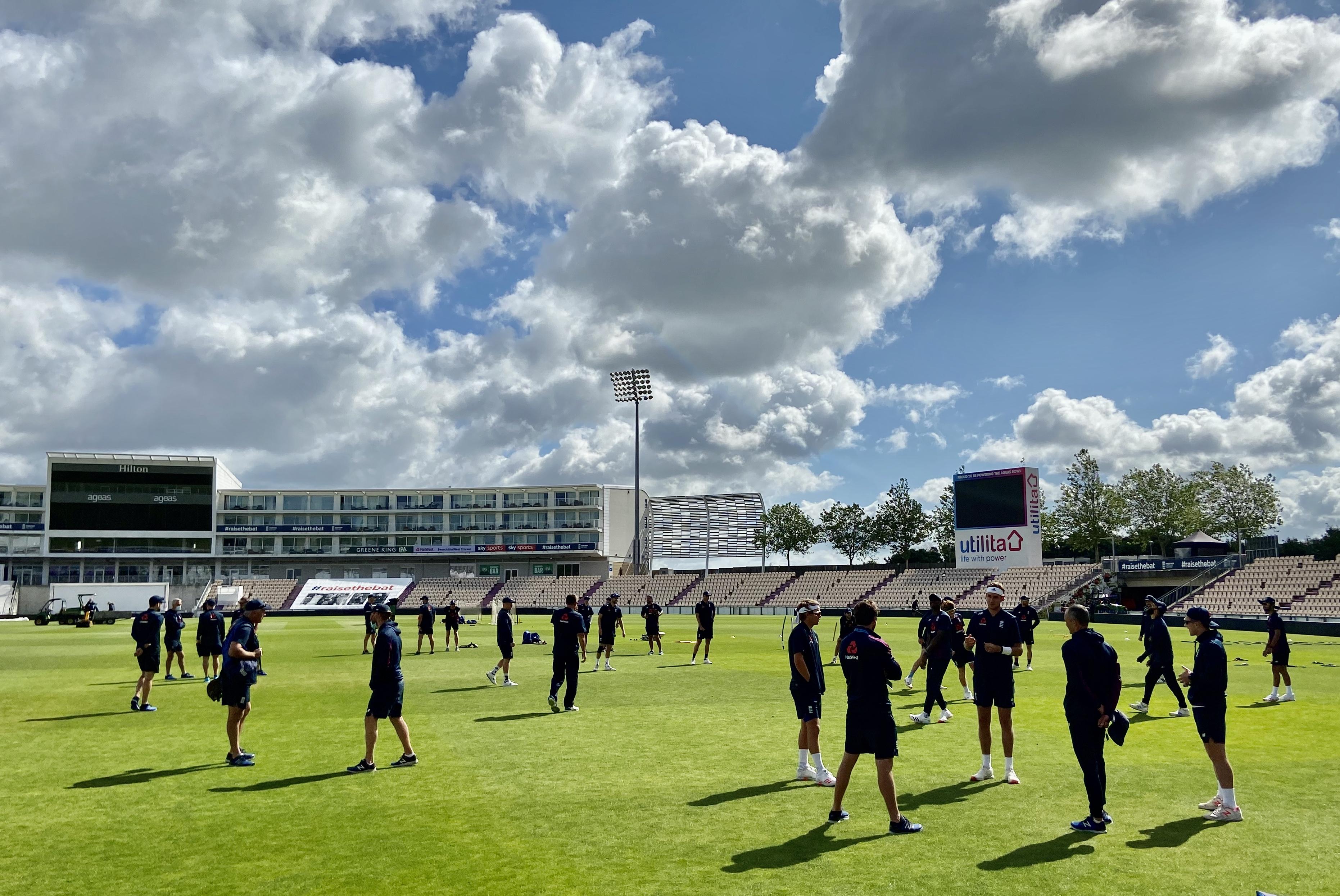 Die Testserie England-West Indies startet am 8. Juli beim Ageas Bowl