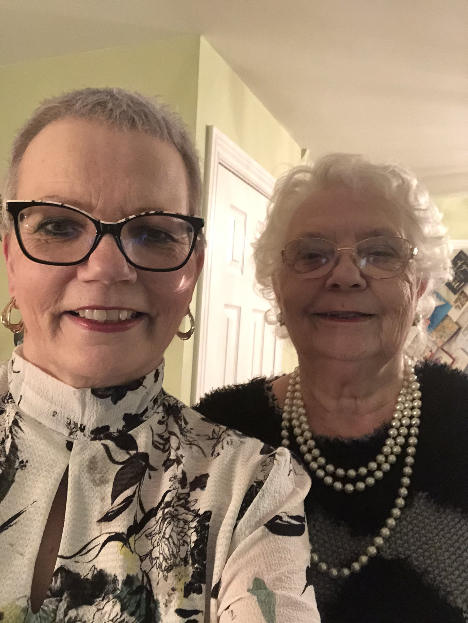 Michelle Teale and her mother Marian