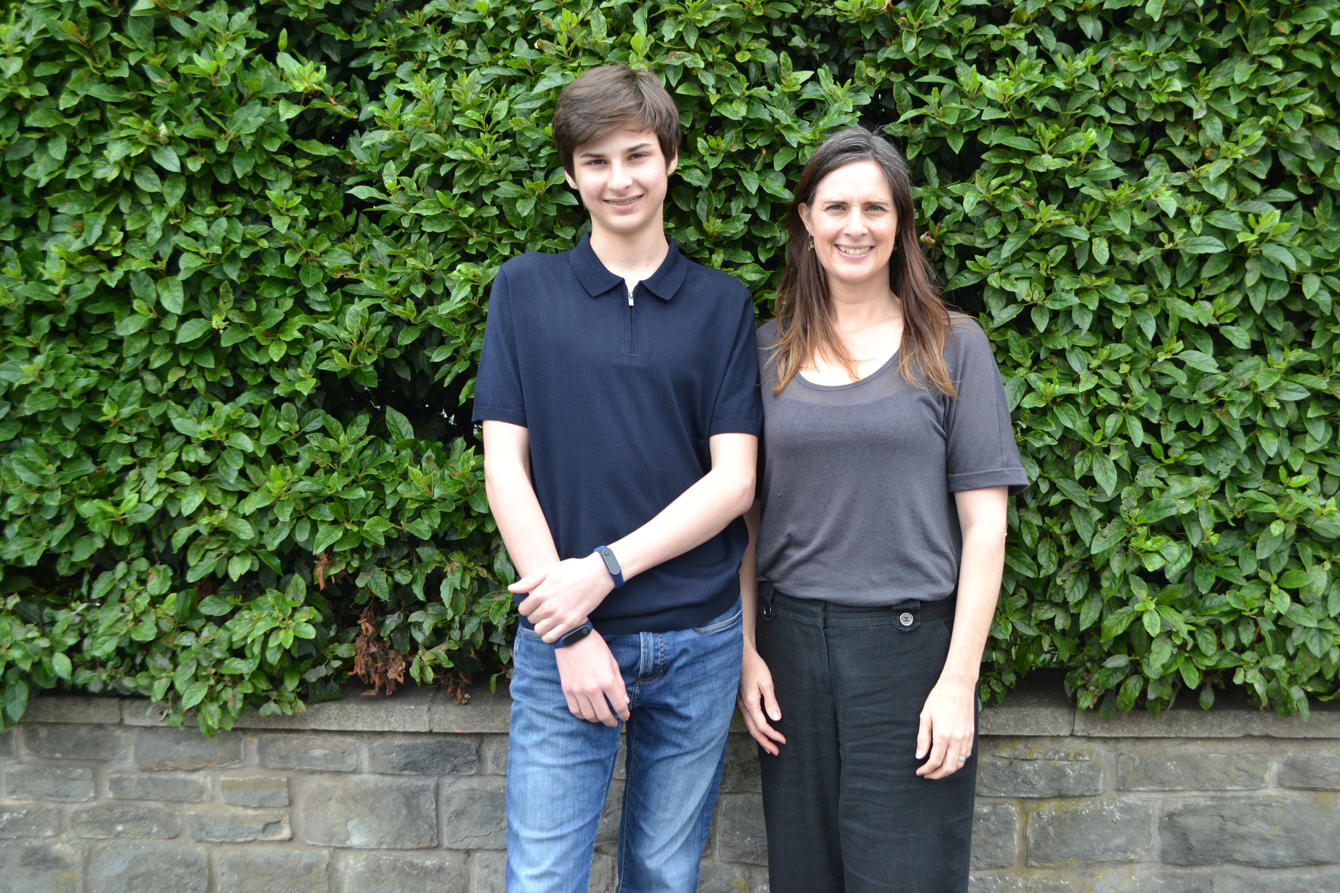 Max has developed the technology alongside his mother, Natalie