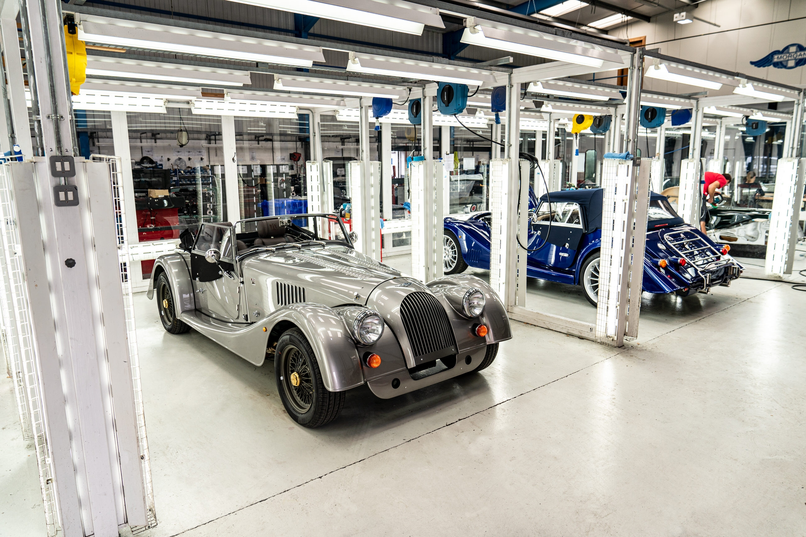 Final steel chassis Morgan
