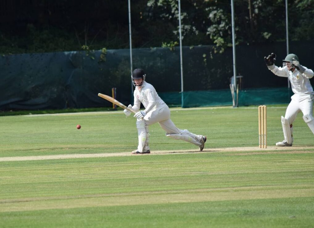 Tom Field batting for Twickenham CC