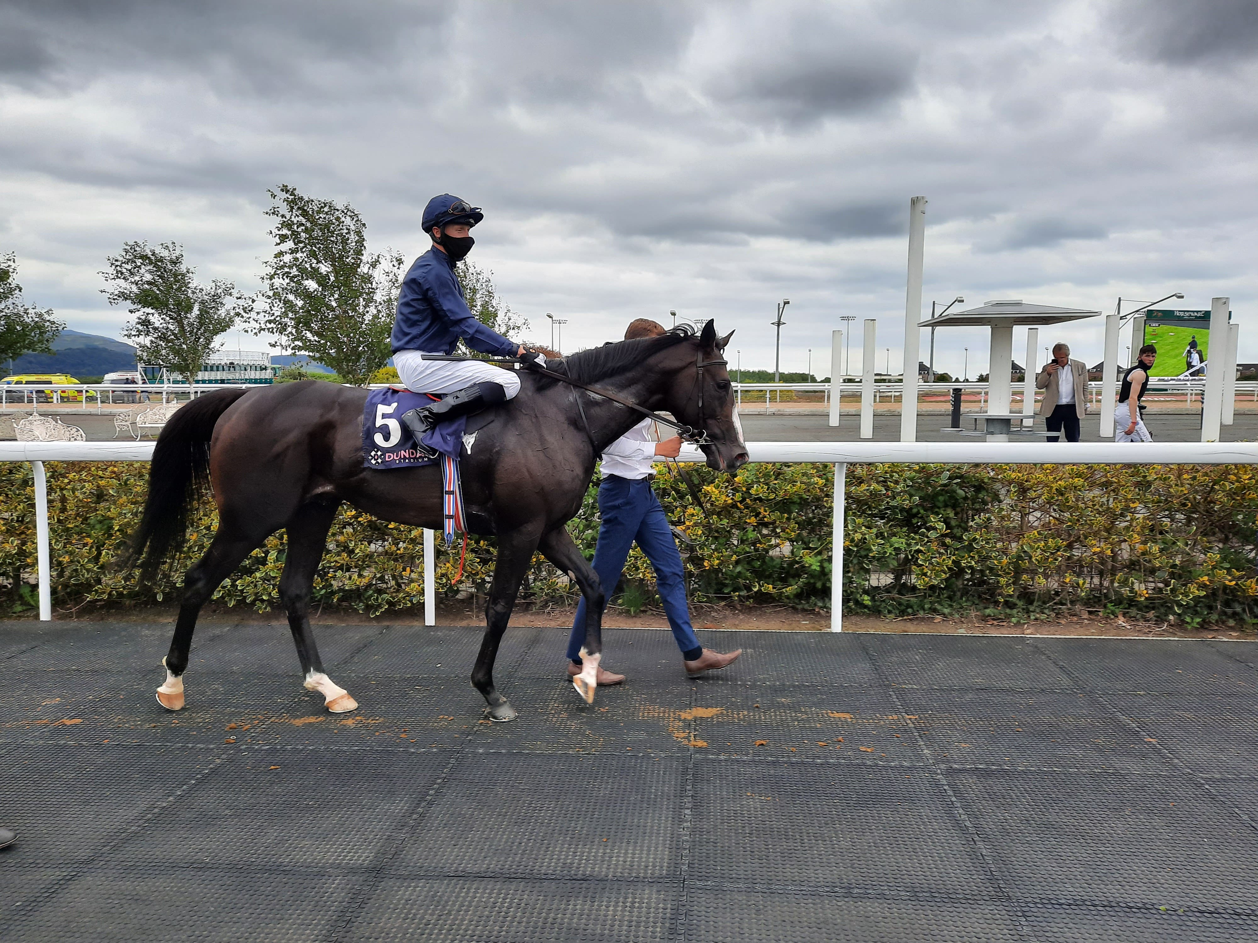 Nobel Prize was a narrow winner of the Woodford Reserve Ballysax Stakes at Dundalk (Gary Carson/PA)