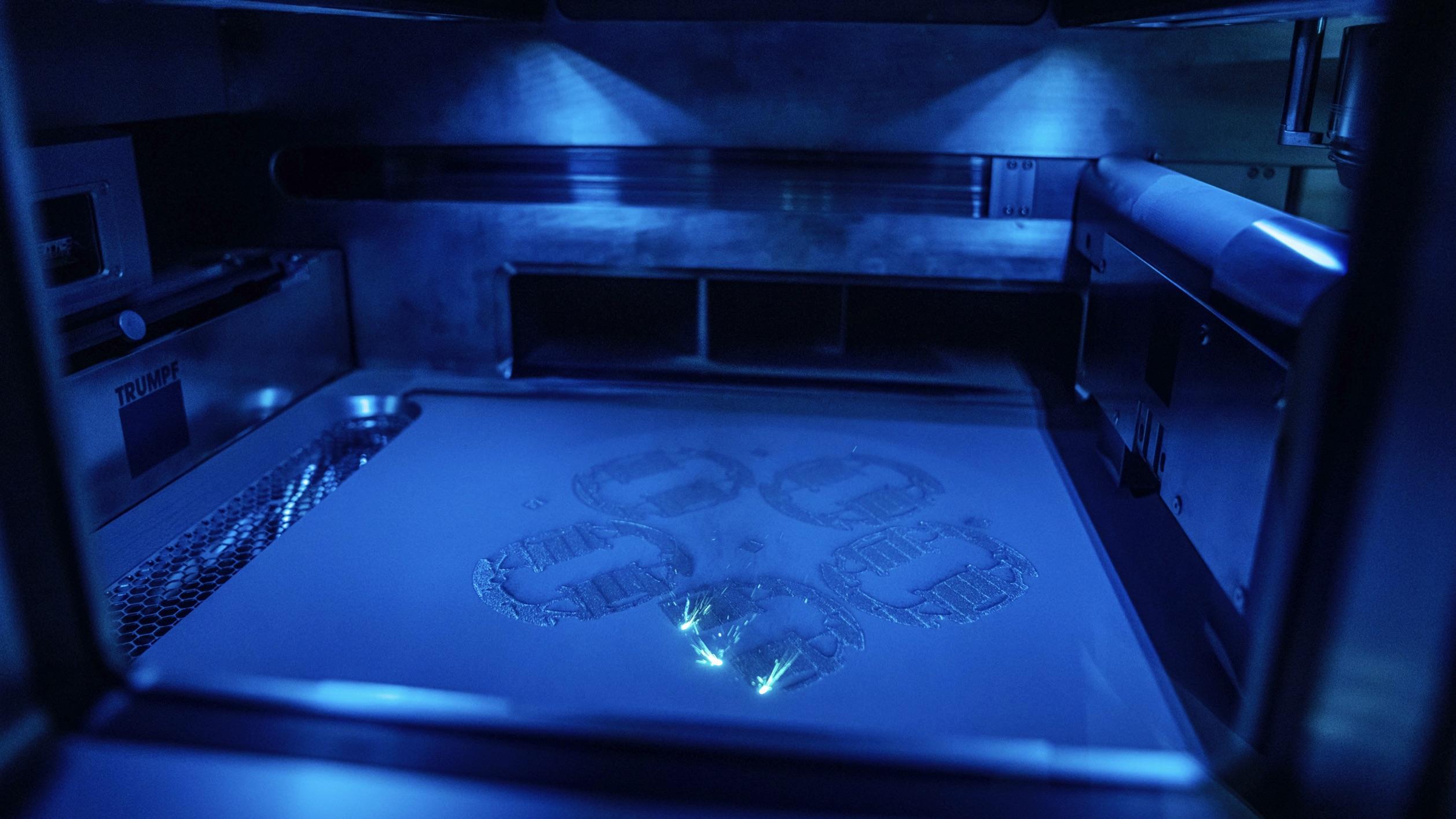 Porsche 3D printing
