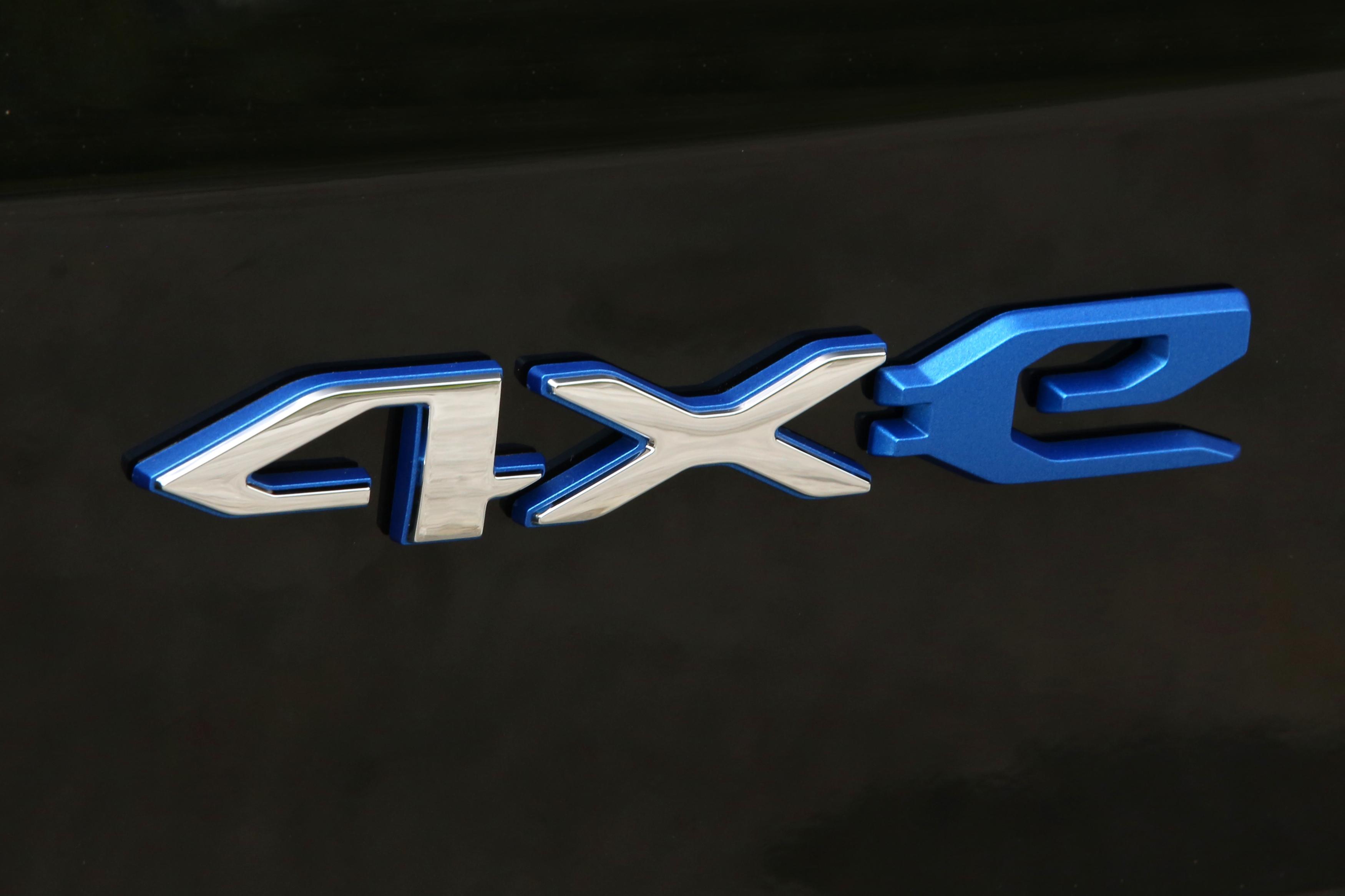 New 4xe badge