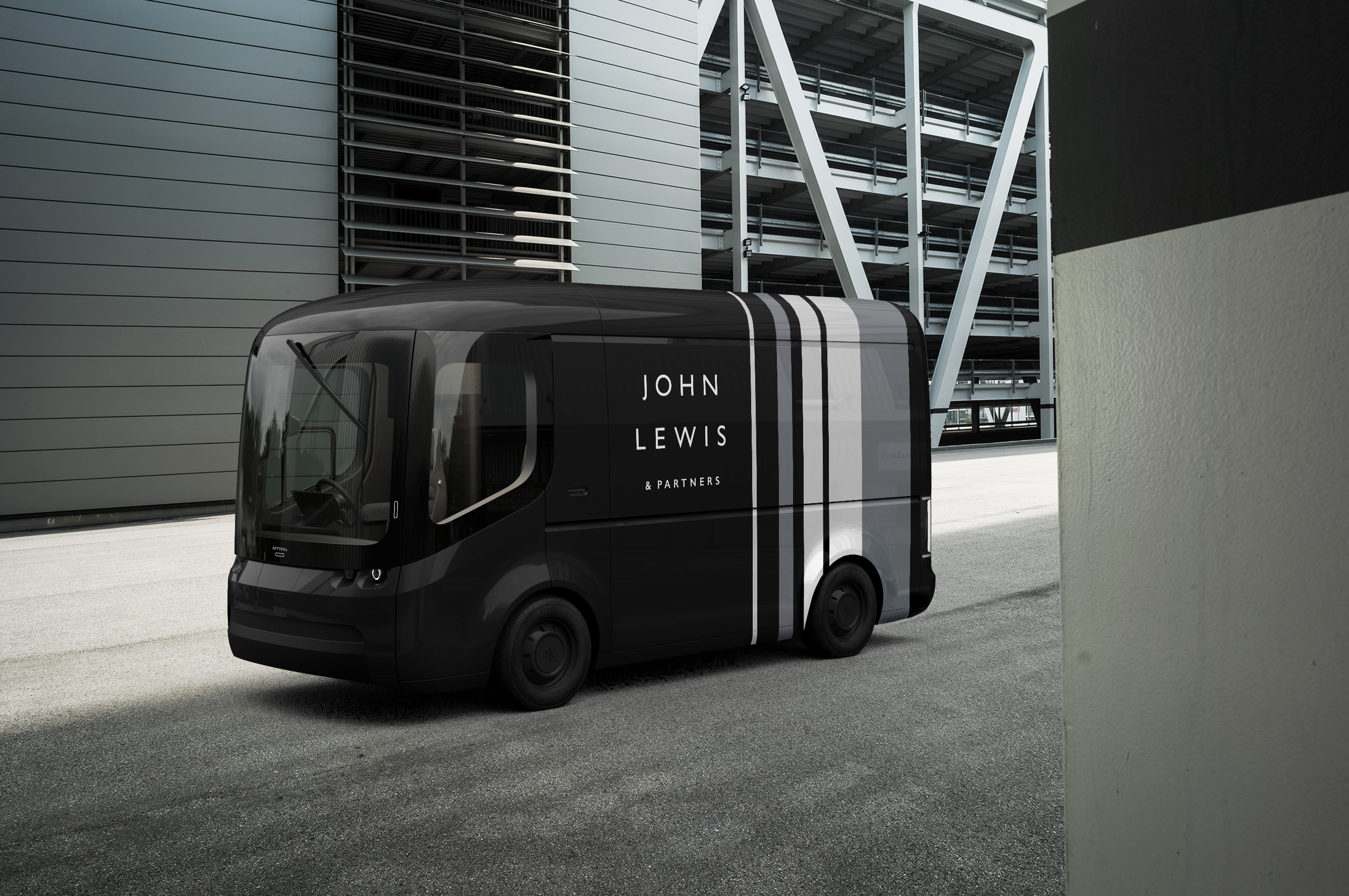 Smaller deliveries from John Lewis will also arrive in electric vans from next year (John Lewis Partnership/PA)