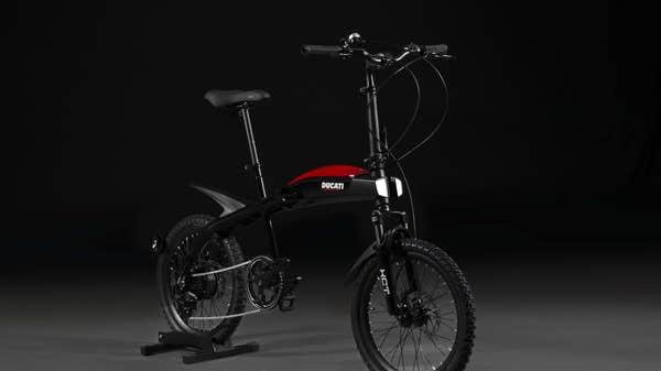 Ducati introduces range of folding e-bikes