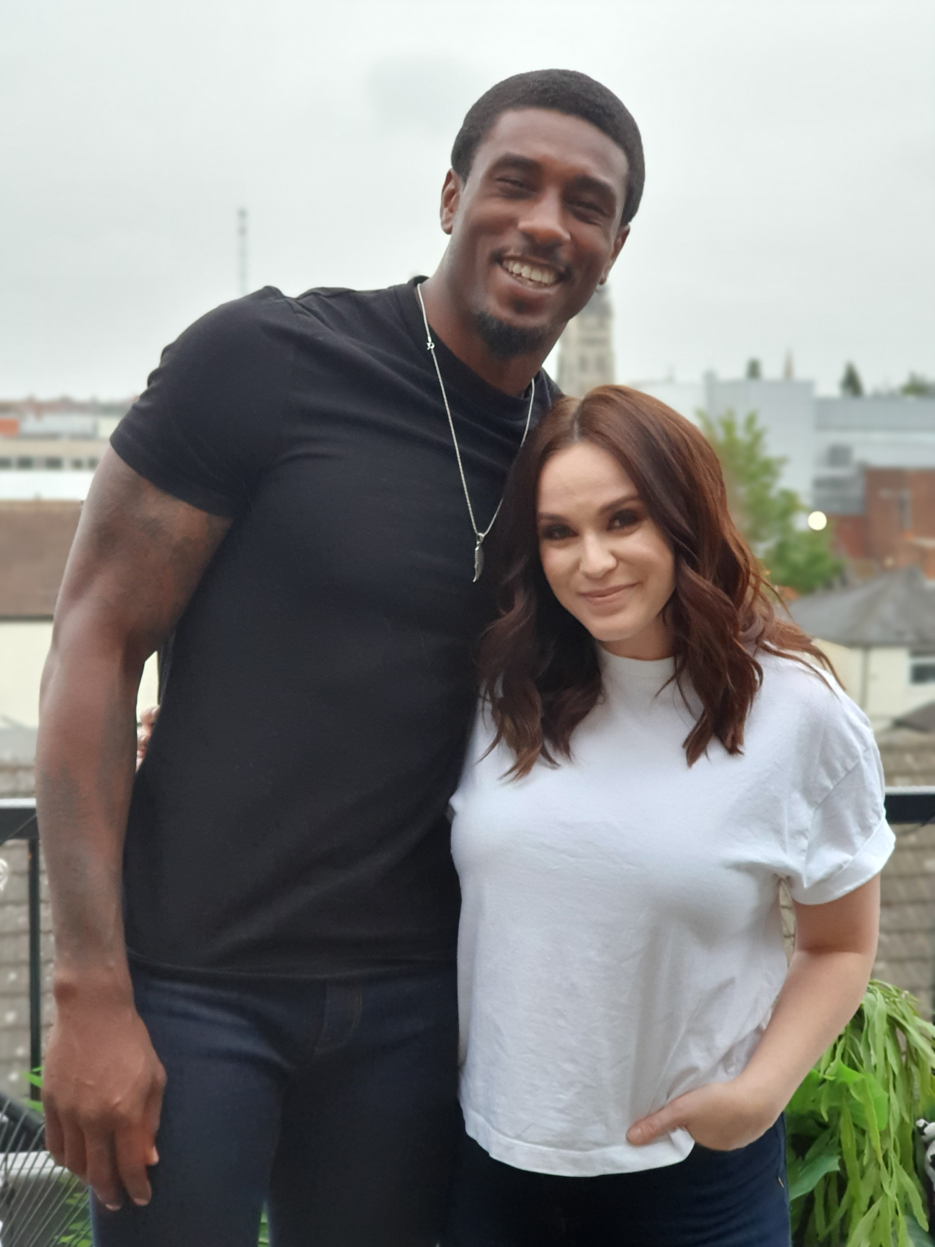 Ovie Soko and Vicky Pattison