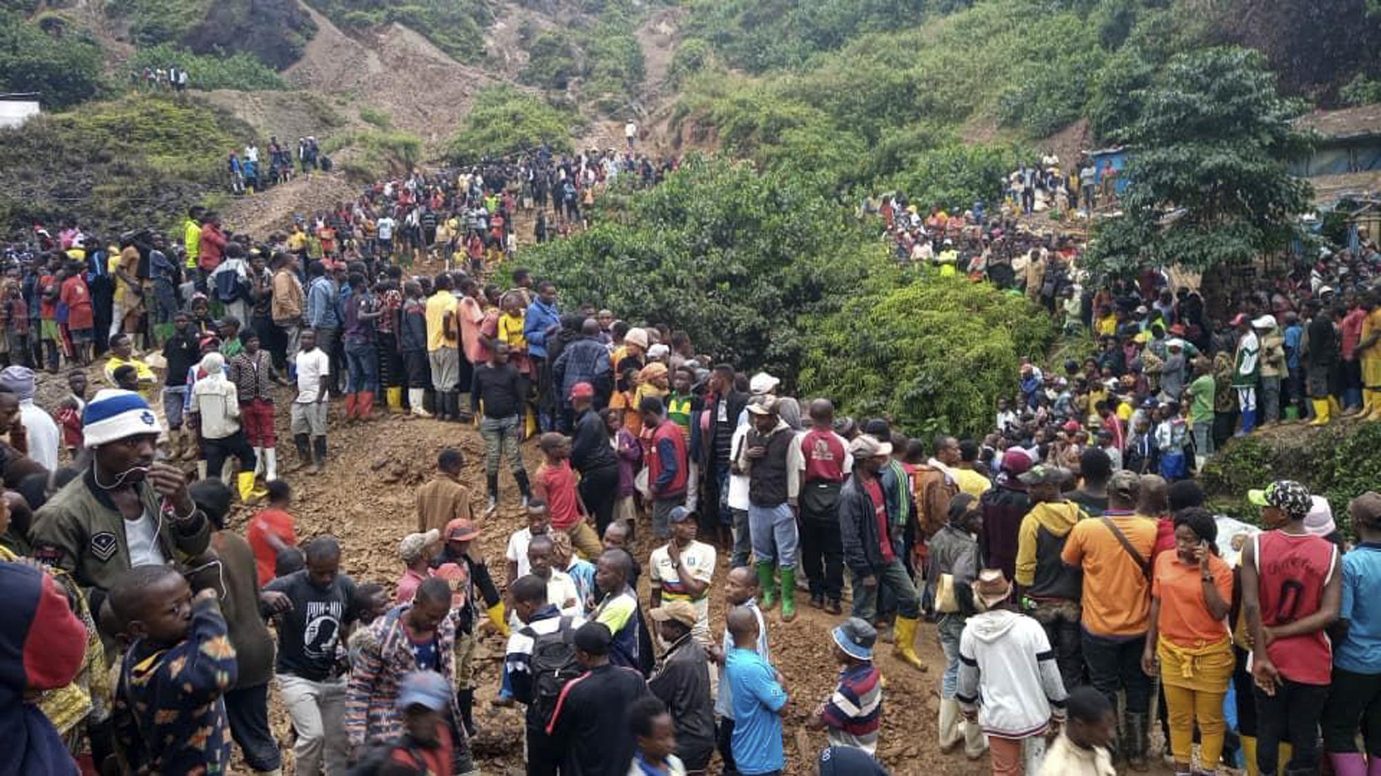 Congo mine collapse