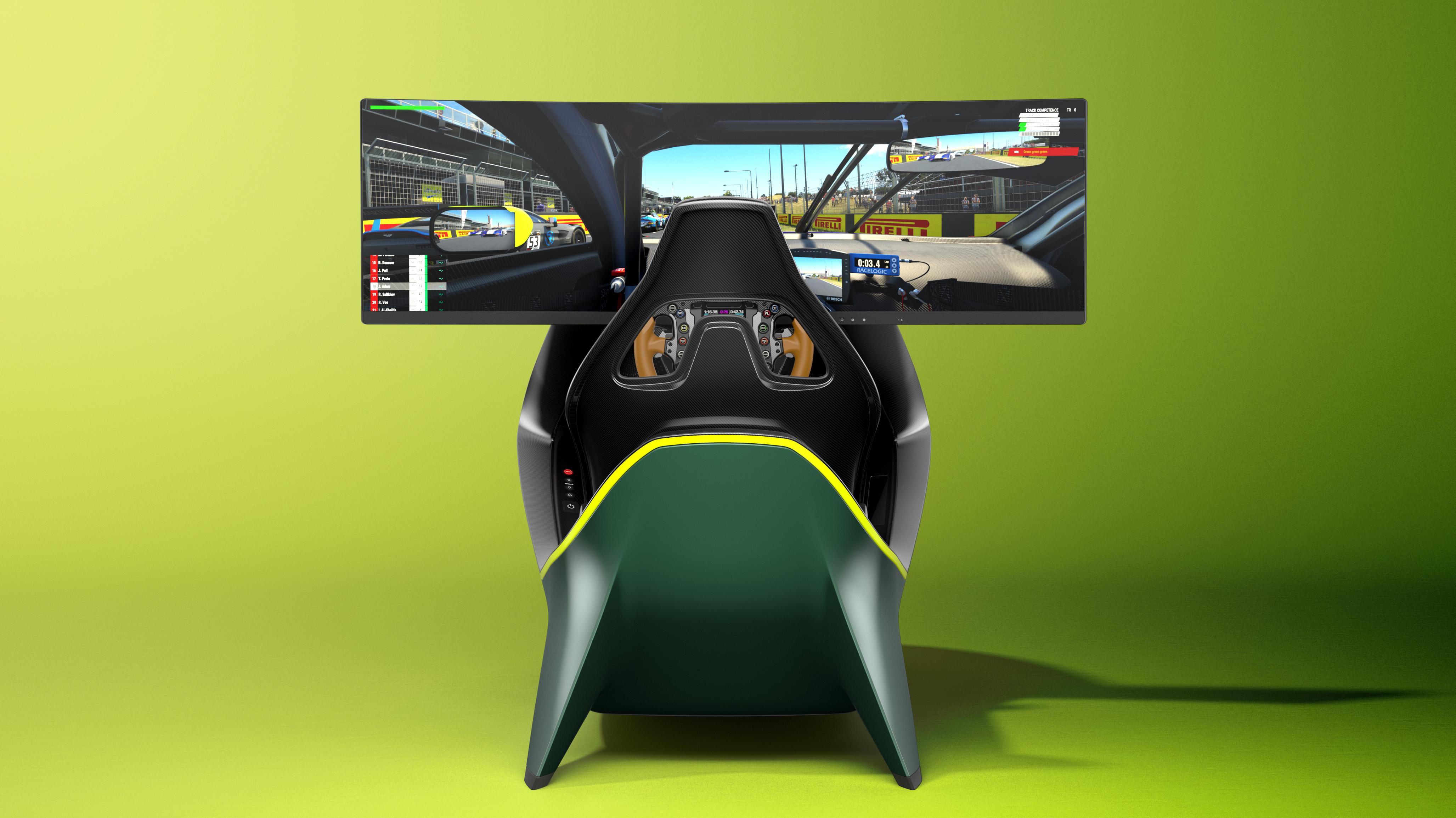 Aston Martin Curv Racing Simulators