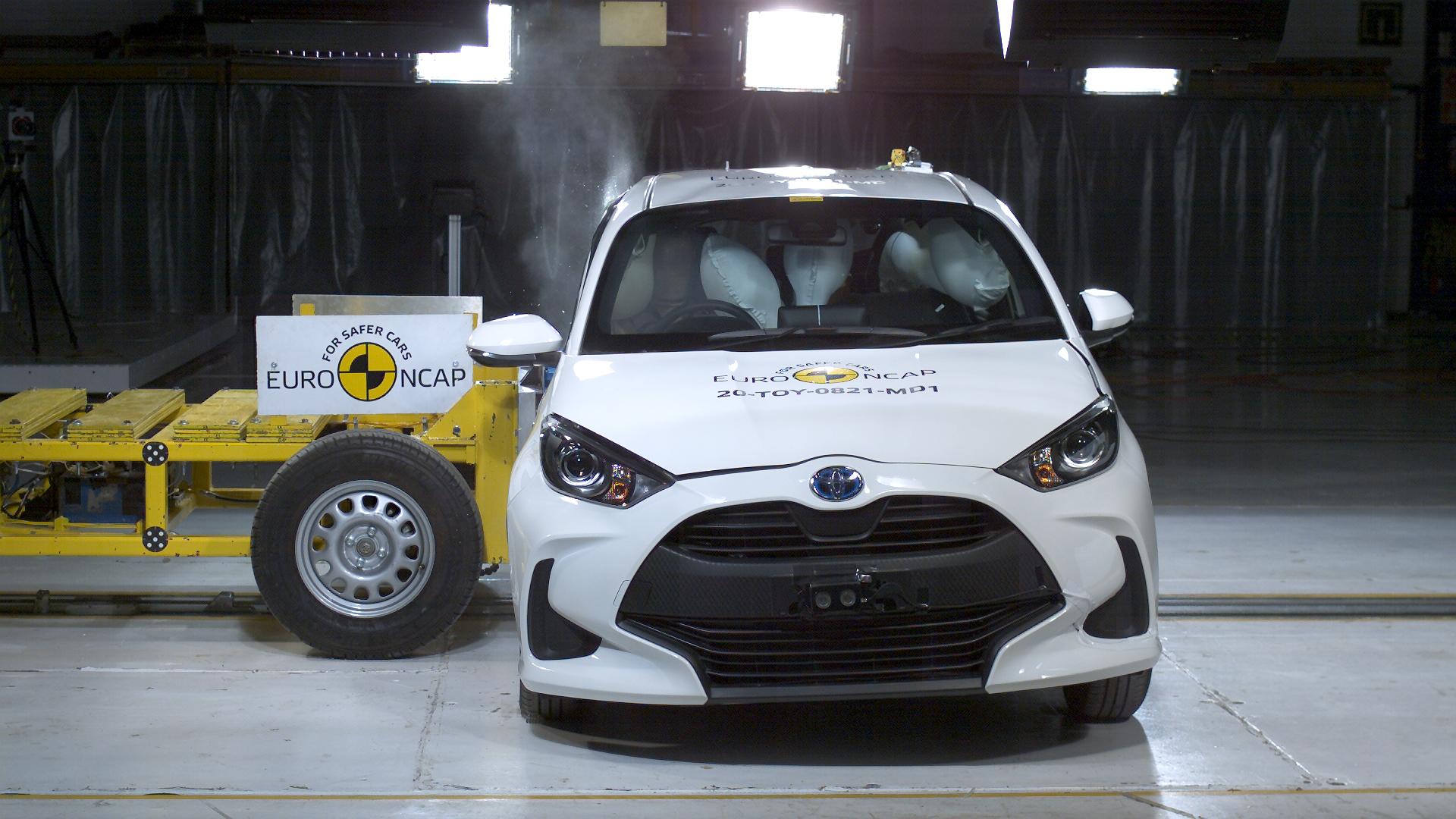 Toyota Yaris Crash Tests