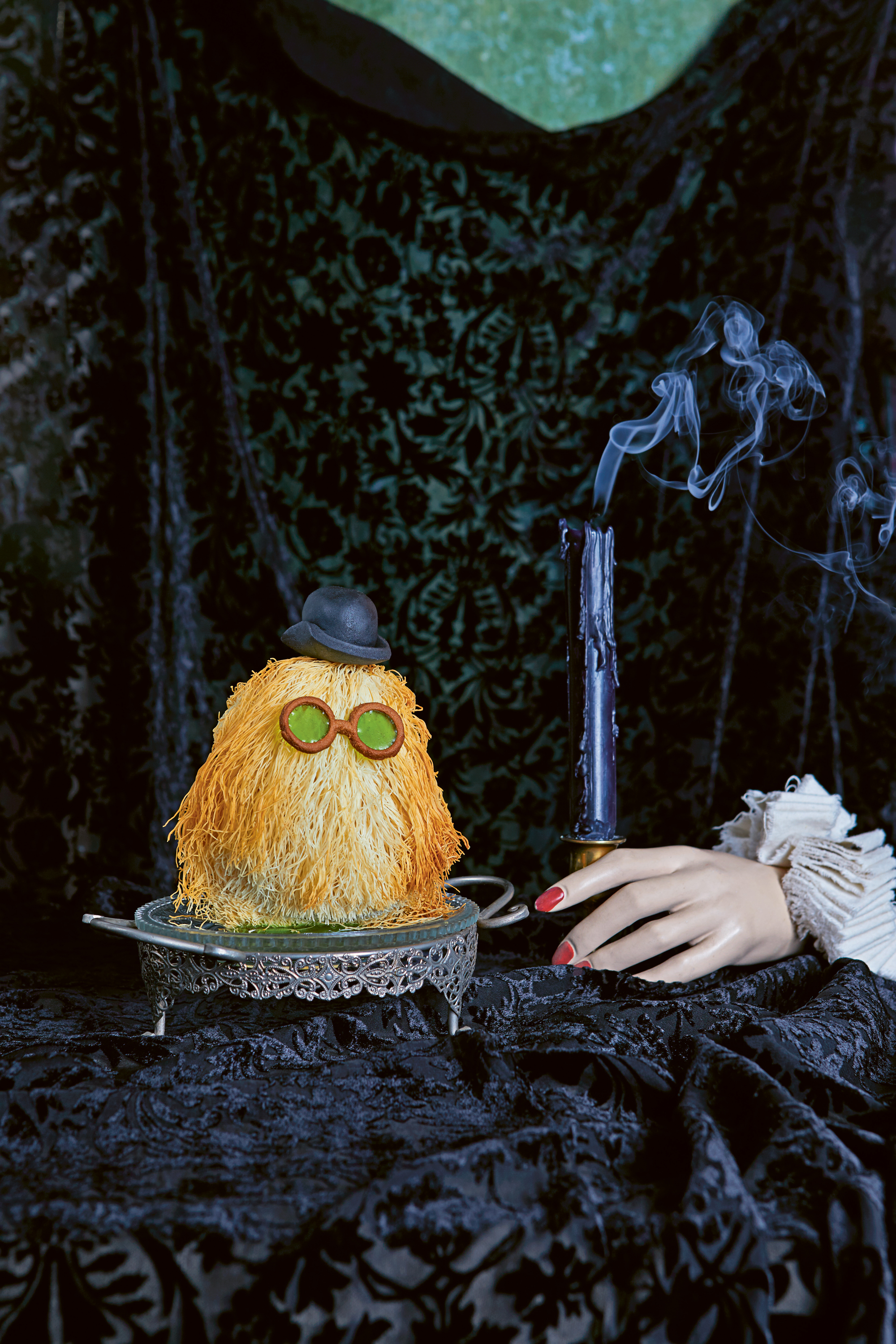Cousin Itt Baklava from The Wicked Baker by Helena Garcia (Patricia Niven/Quadrille/PA)