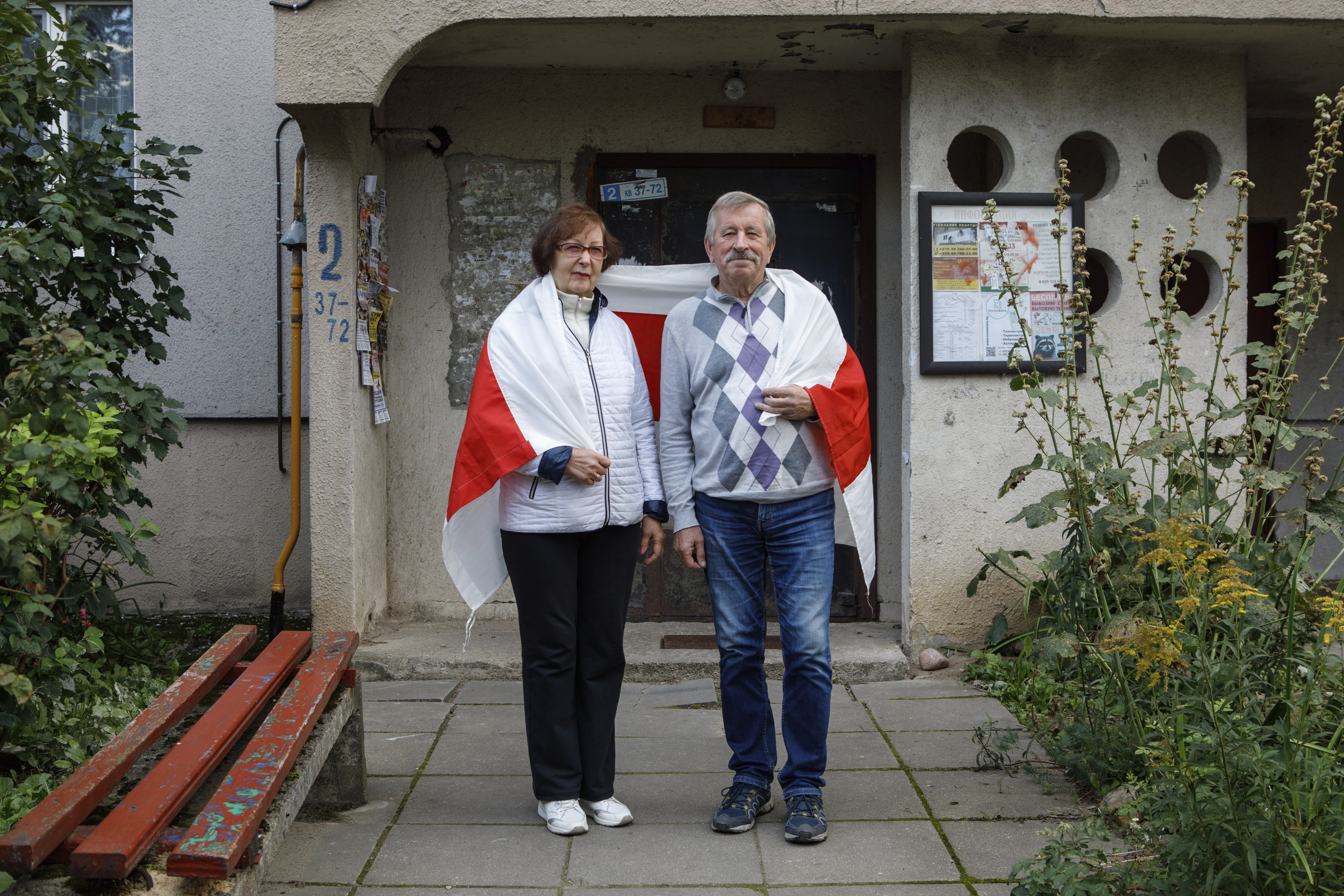 Mikhail Batsyan, 69, and his wife Ludmila Batsyan, 65
