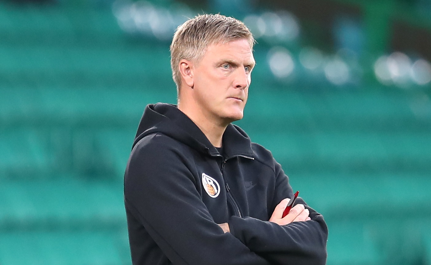 Runarsson's father, Runar Kristinsson currently manages KR Reykjavik. (PA)