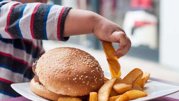 How can I help my young child to lose weight?