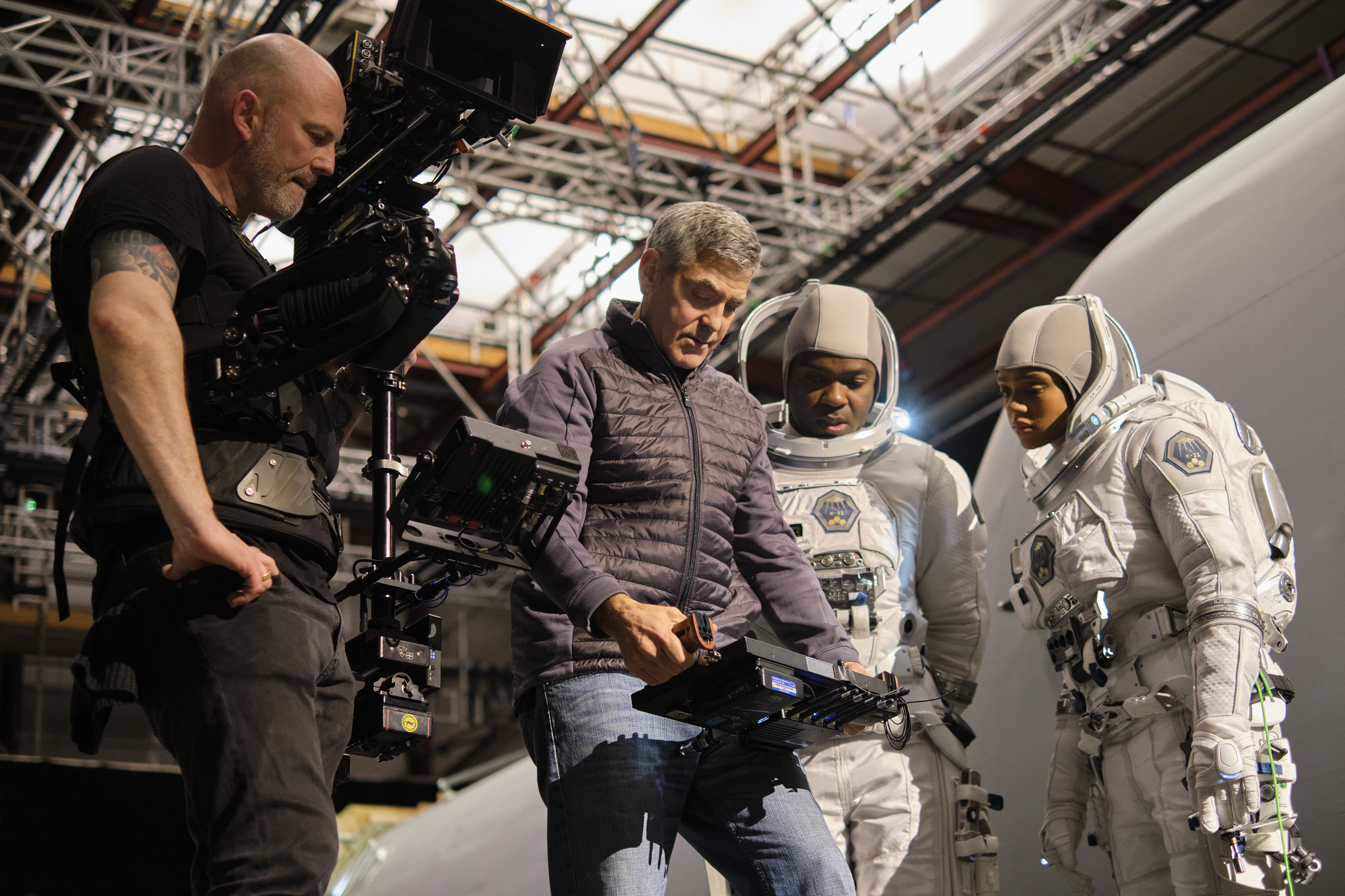 Clooney directs David Oyelowo and Tiffany Boone