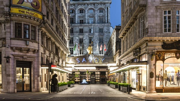 The Savoy has reopened – but what's it like?