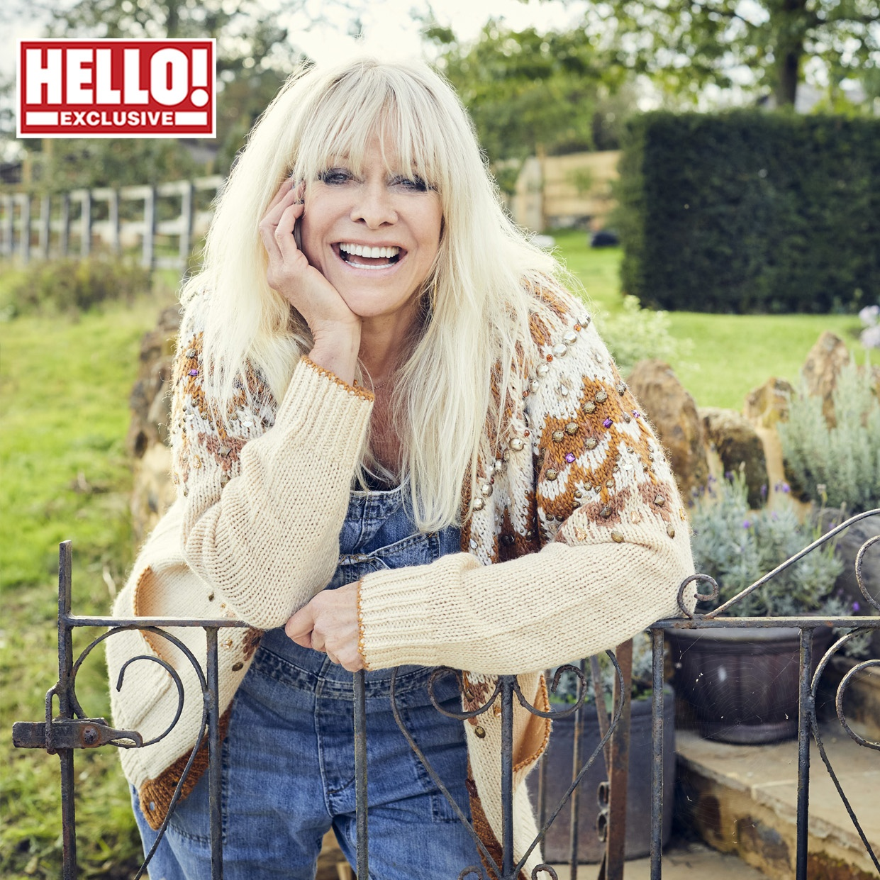 Im happy as I am - Jo Wood not looking for love right