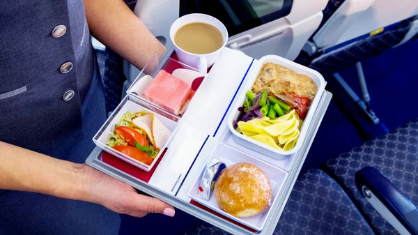 Introducing the latest pandemic travel trend – restaurants serving in-flight meals