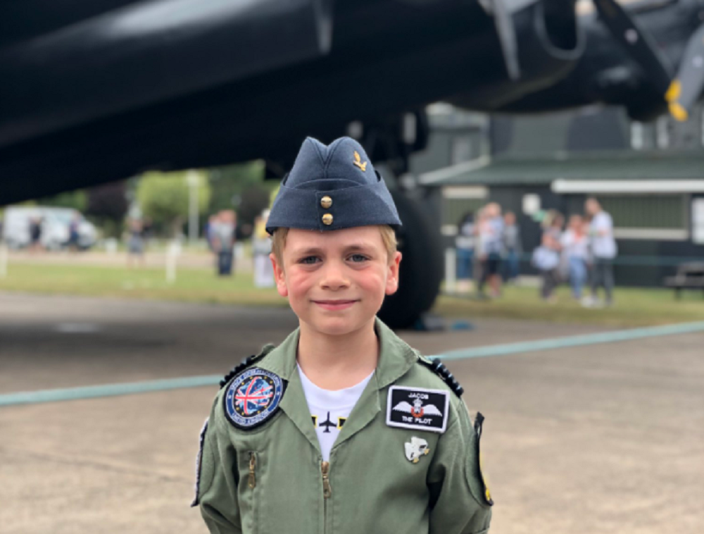 Six-year-old boy to walk 30 miles in aid of the RAF Benevolent Fund