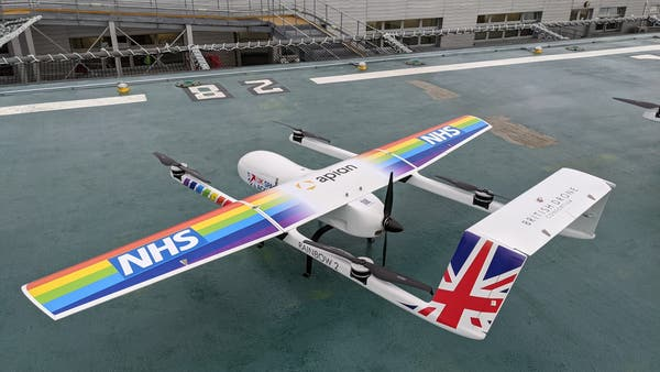 Medical drone delivery service receives UK Space Agency backing