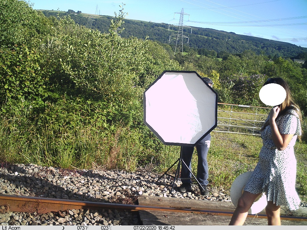 Network Rail said taking photos on the tracks is 'plain stupidity' (Network Rail/PA)