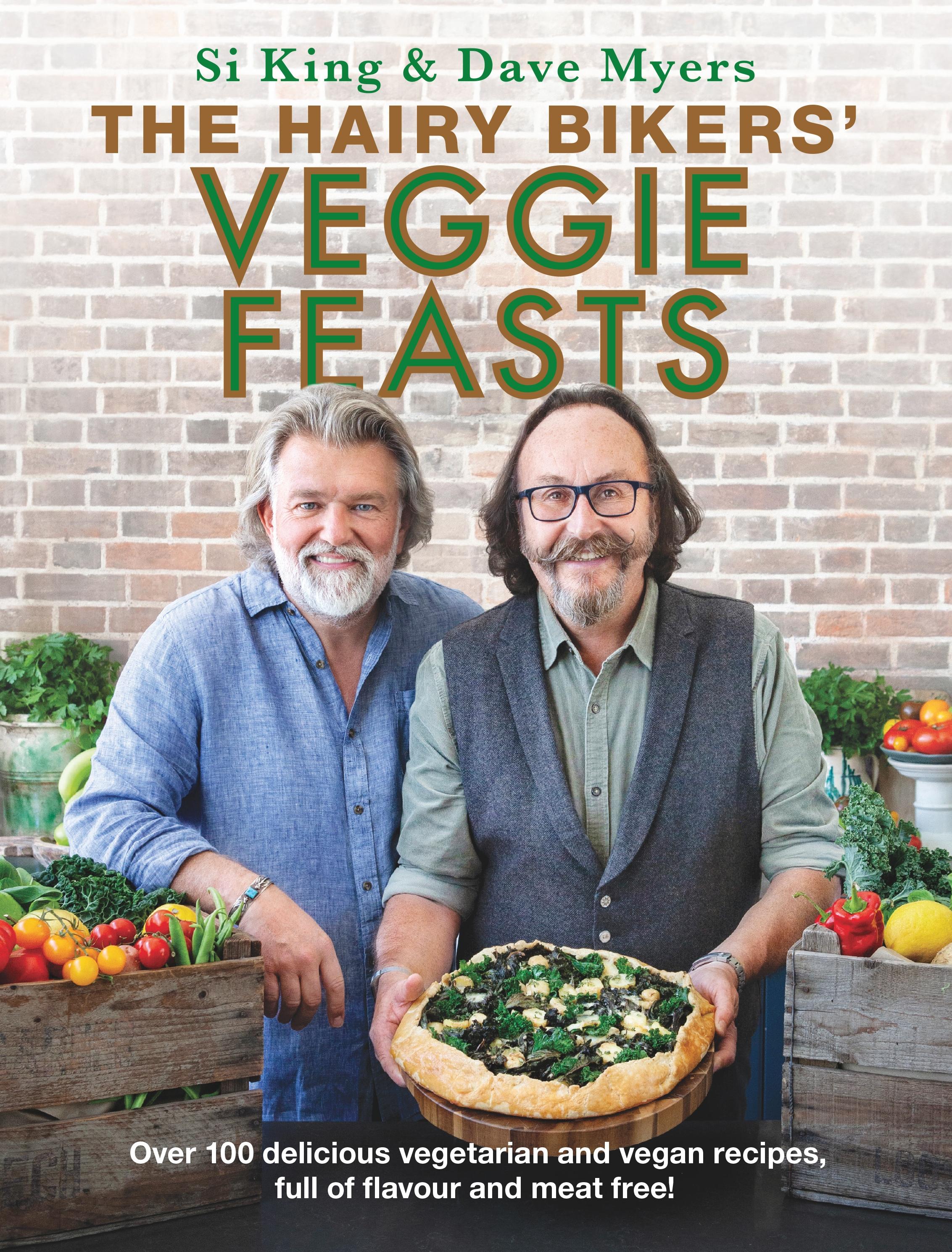 Hairy Bikers Veggie Feasts cover