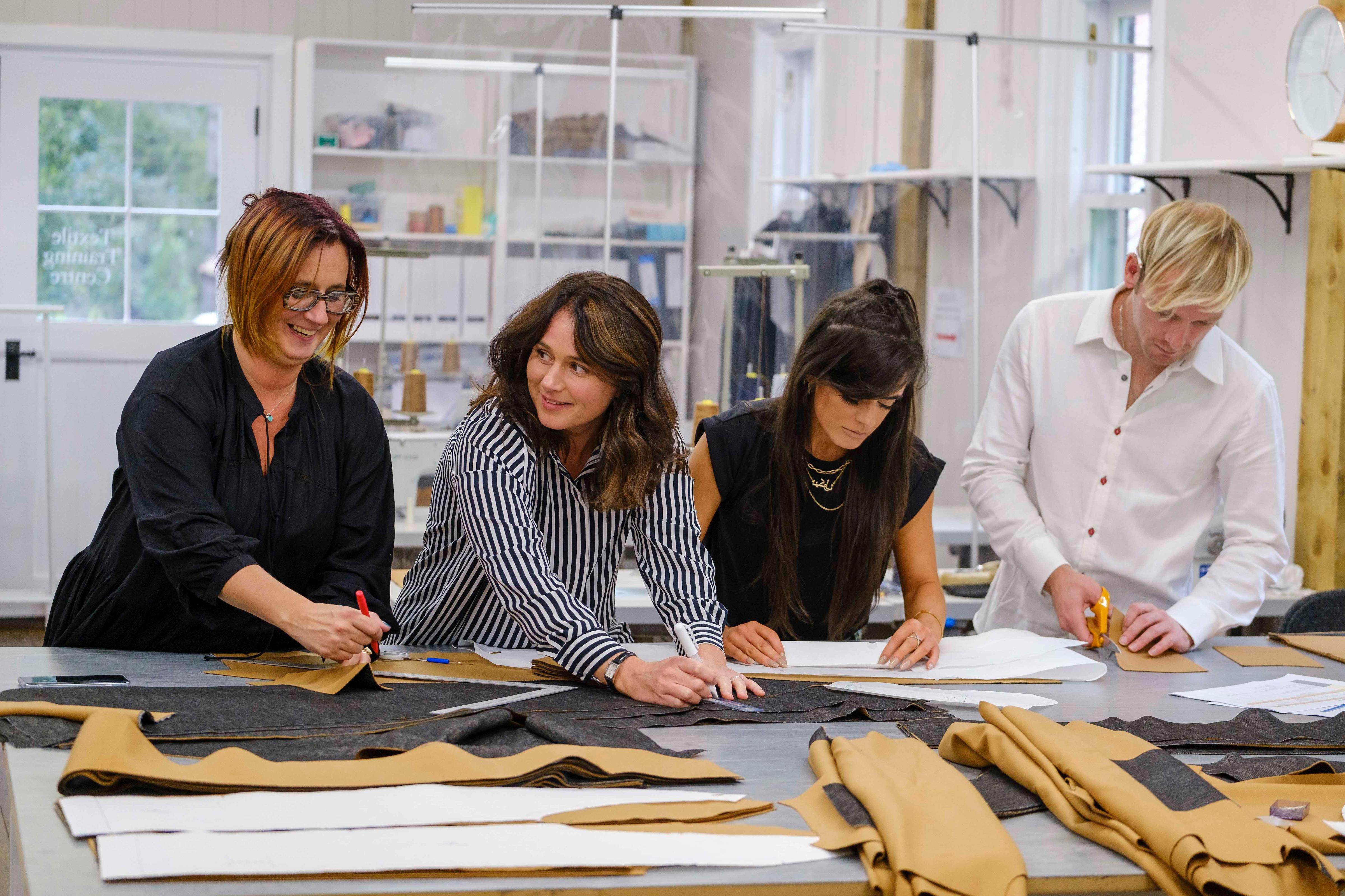 British Modern Artisans working on the collection