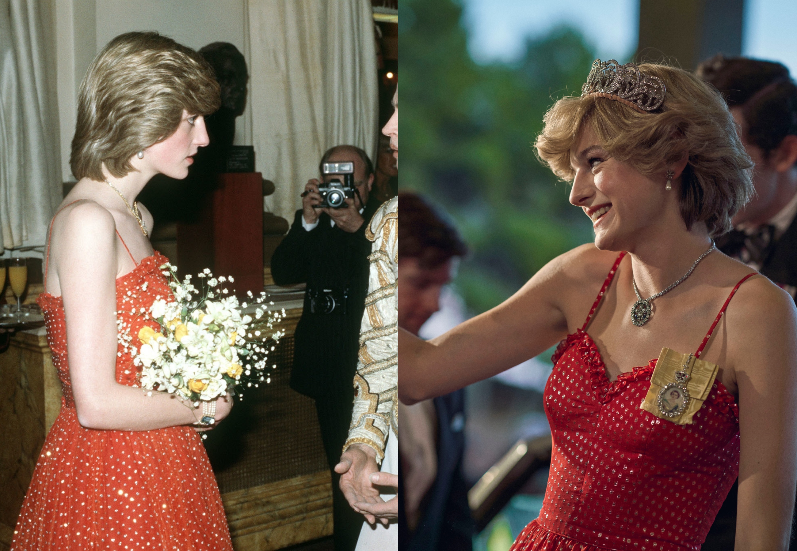 Princess Diana at the Royal Opera House