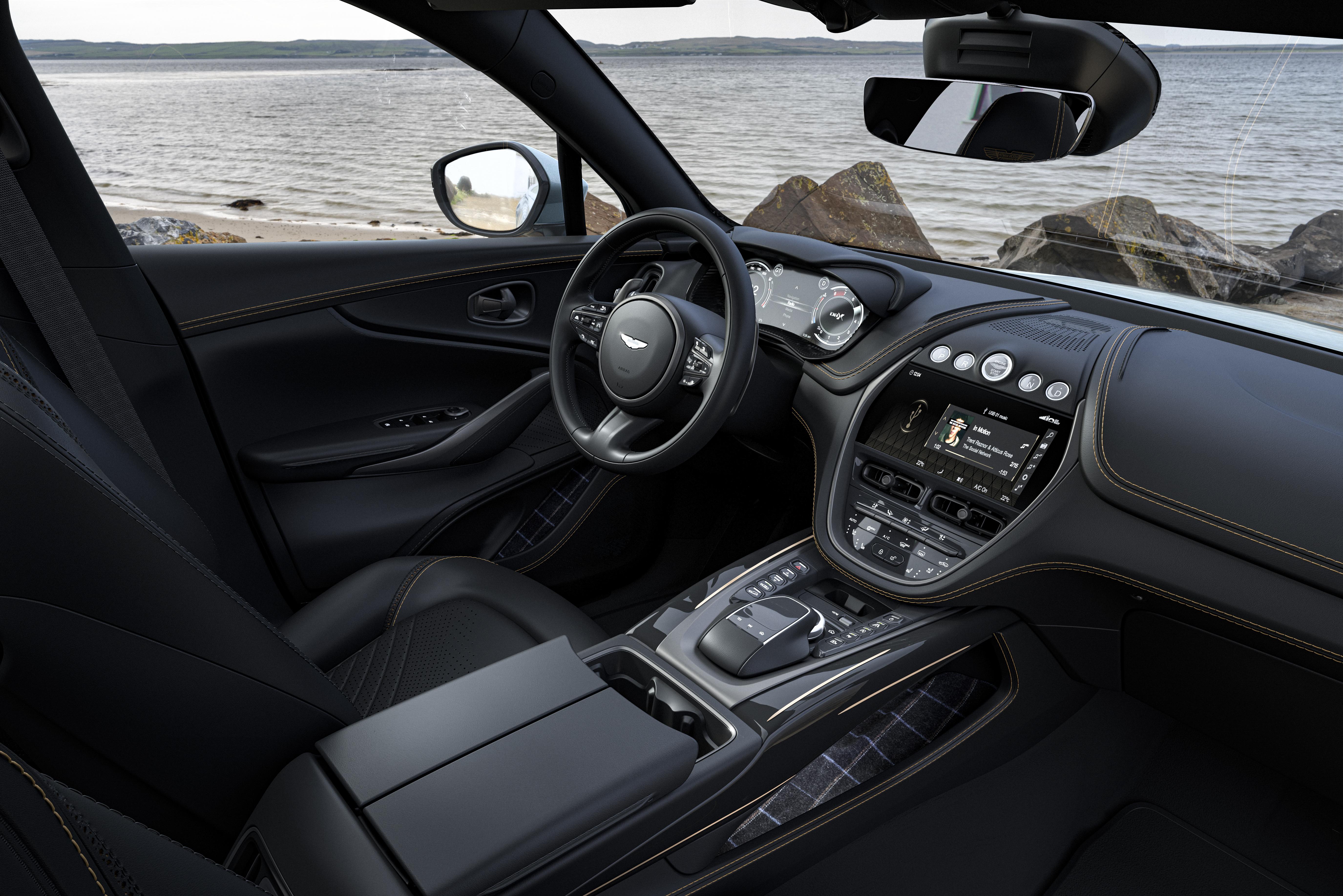 Q by Aston Martin DBX Bowmore Edition