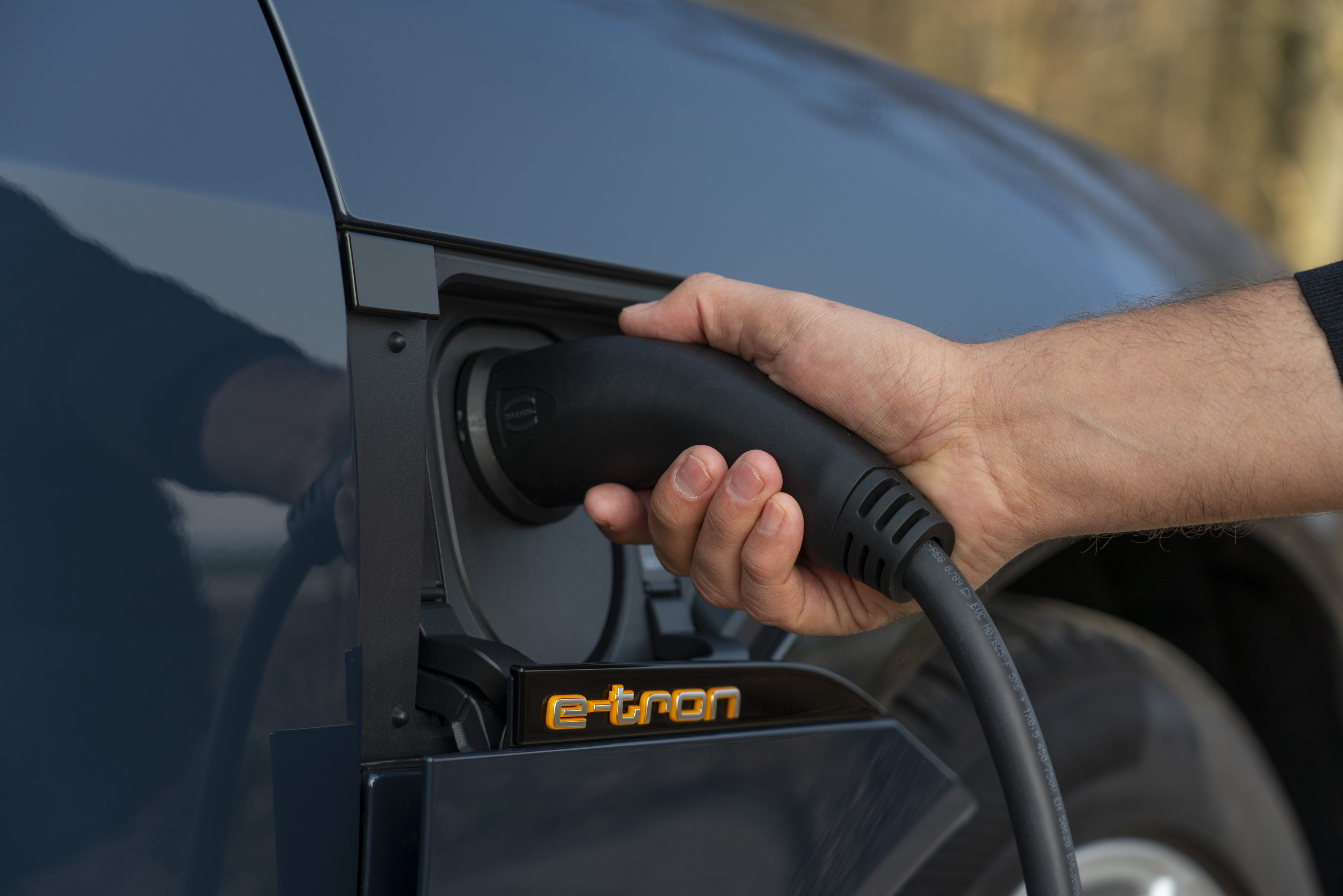 Audi e-tron Sportback 55 quattro charging