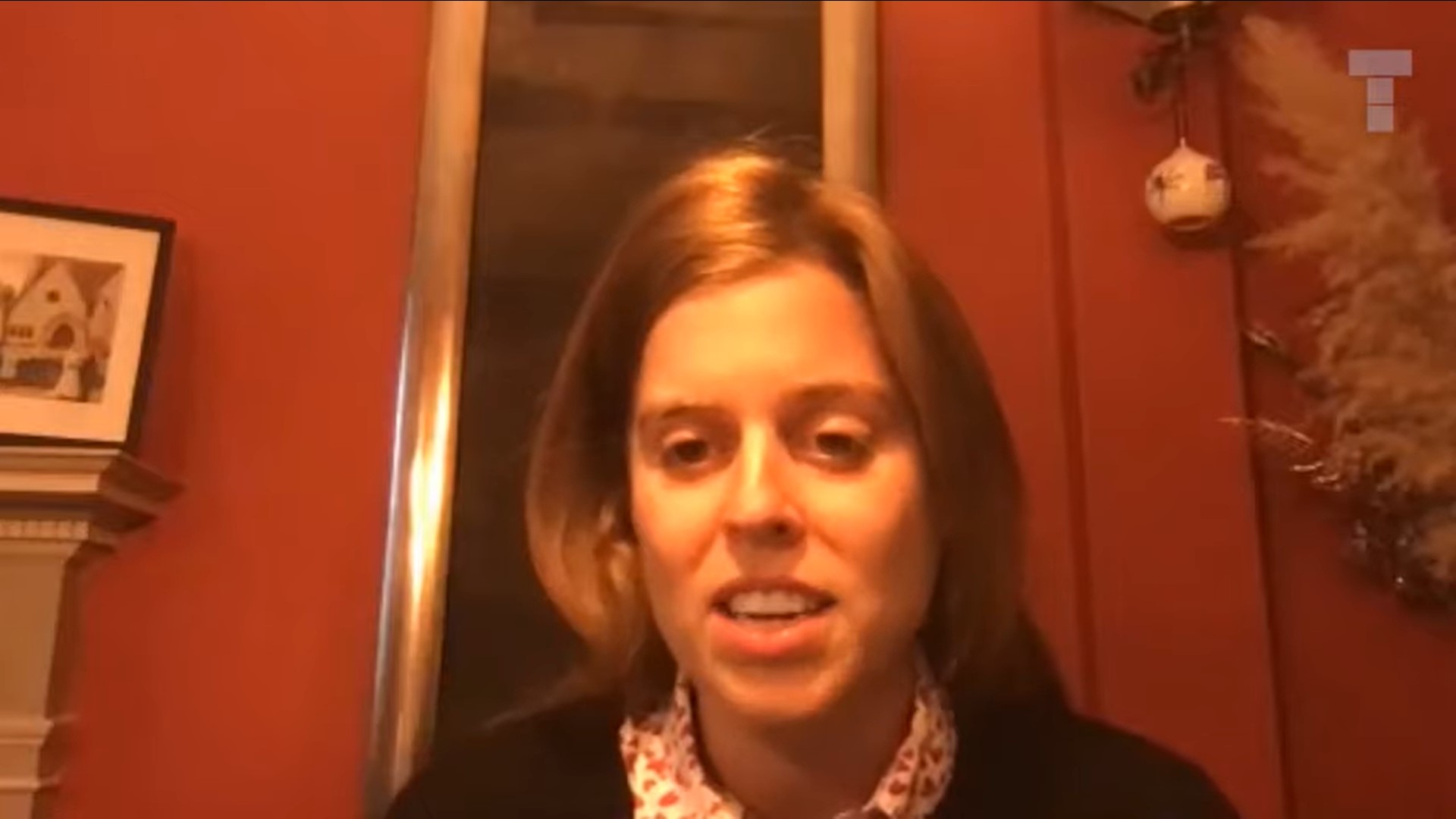 Princess Beatrice during the chat