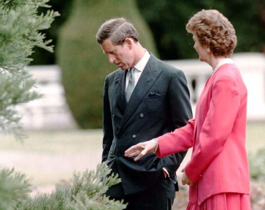 Prince of Wales with Mary Robinson