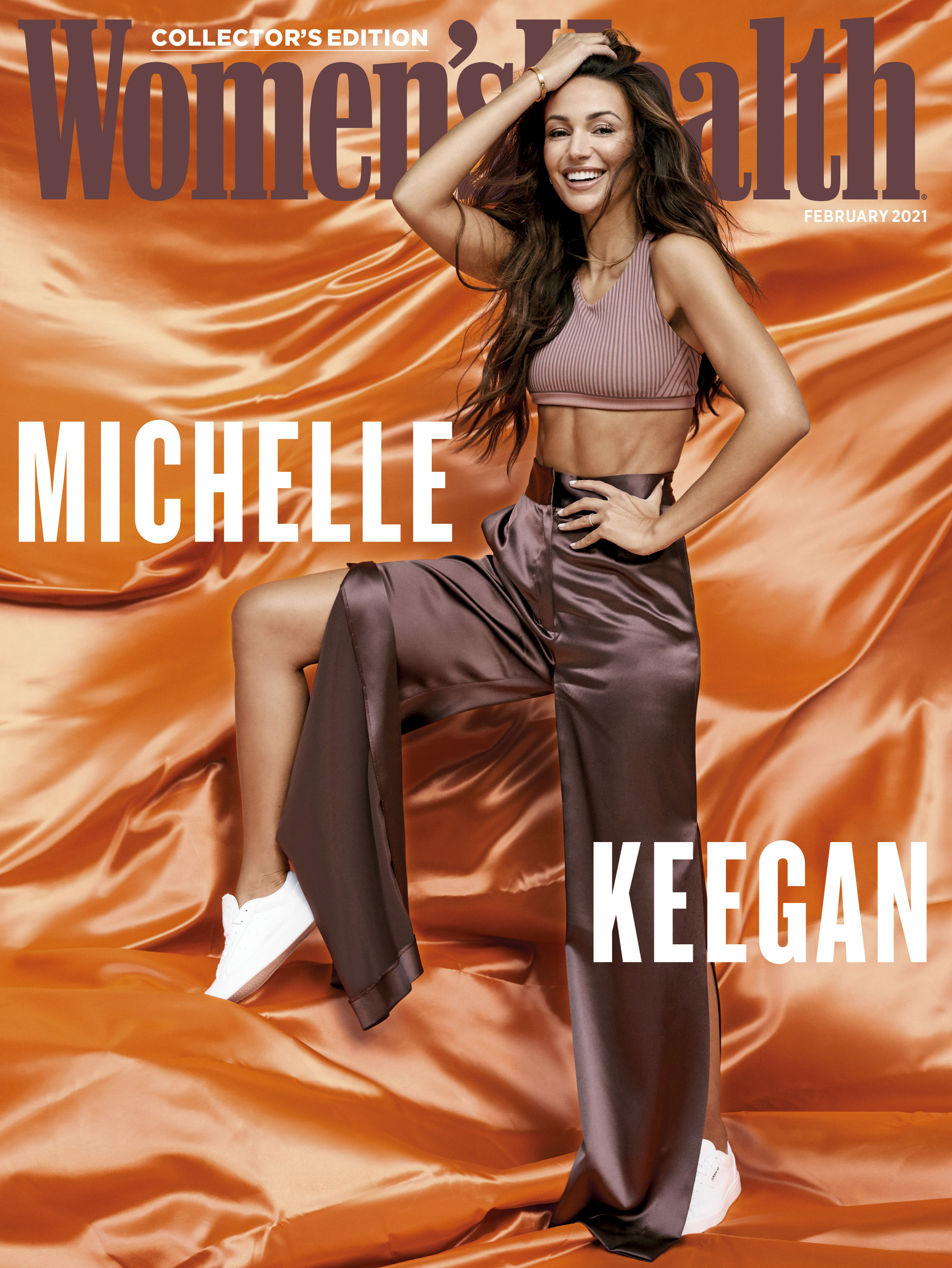 Women's Health cover photographed by Peter Pedonomou