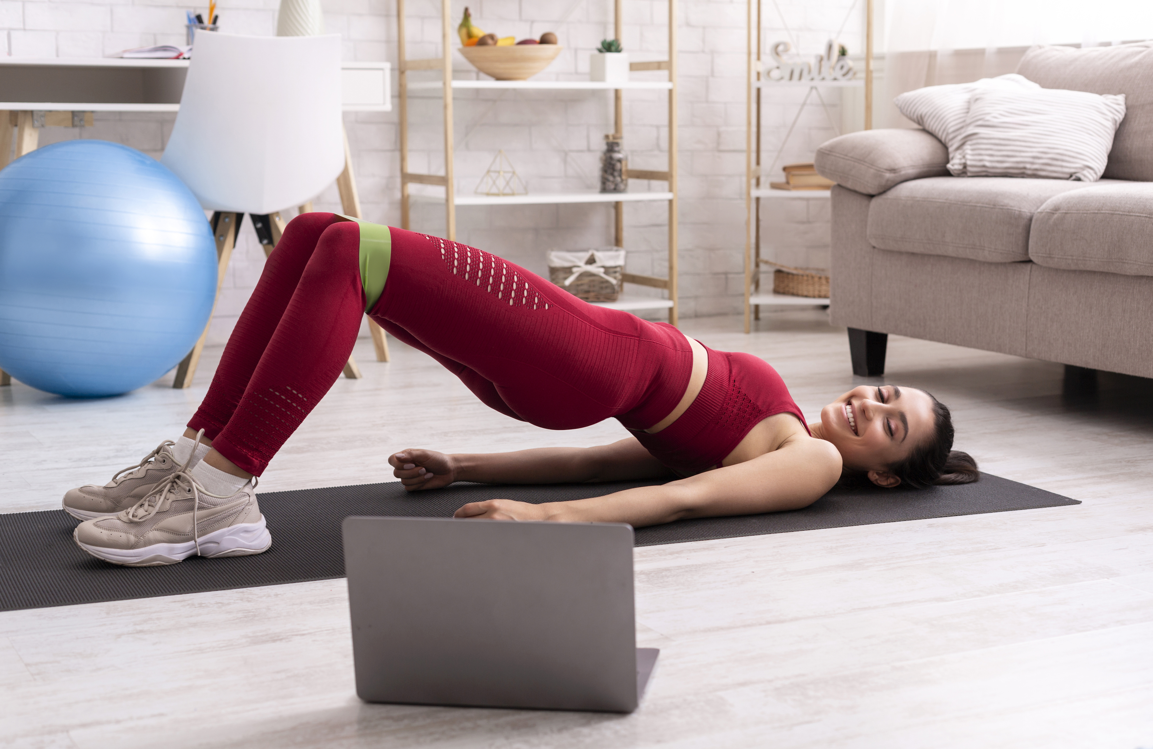 Interactive home workout