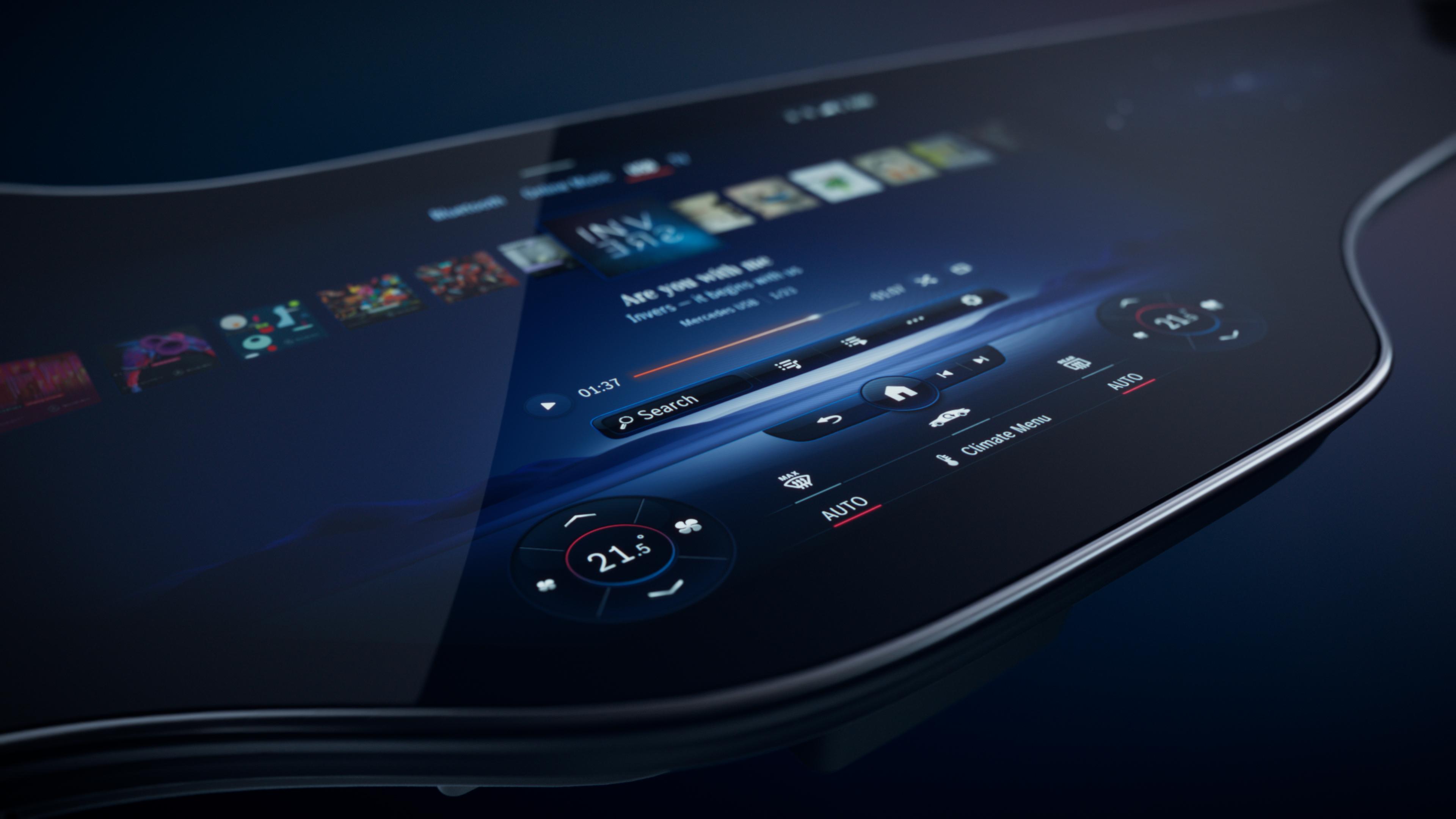 Mercedes-EQ MBUX Hyperscreen