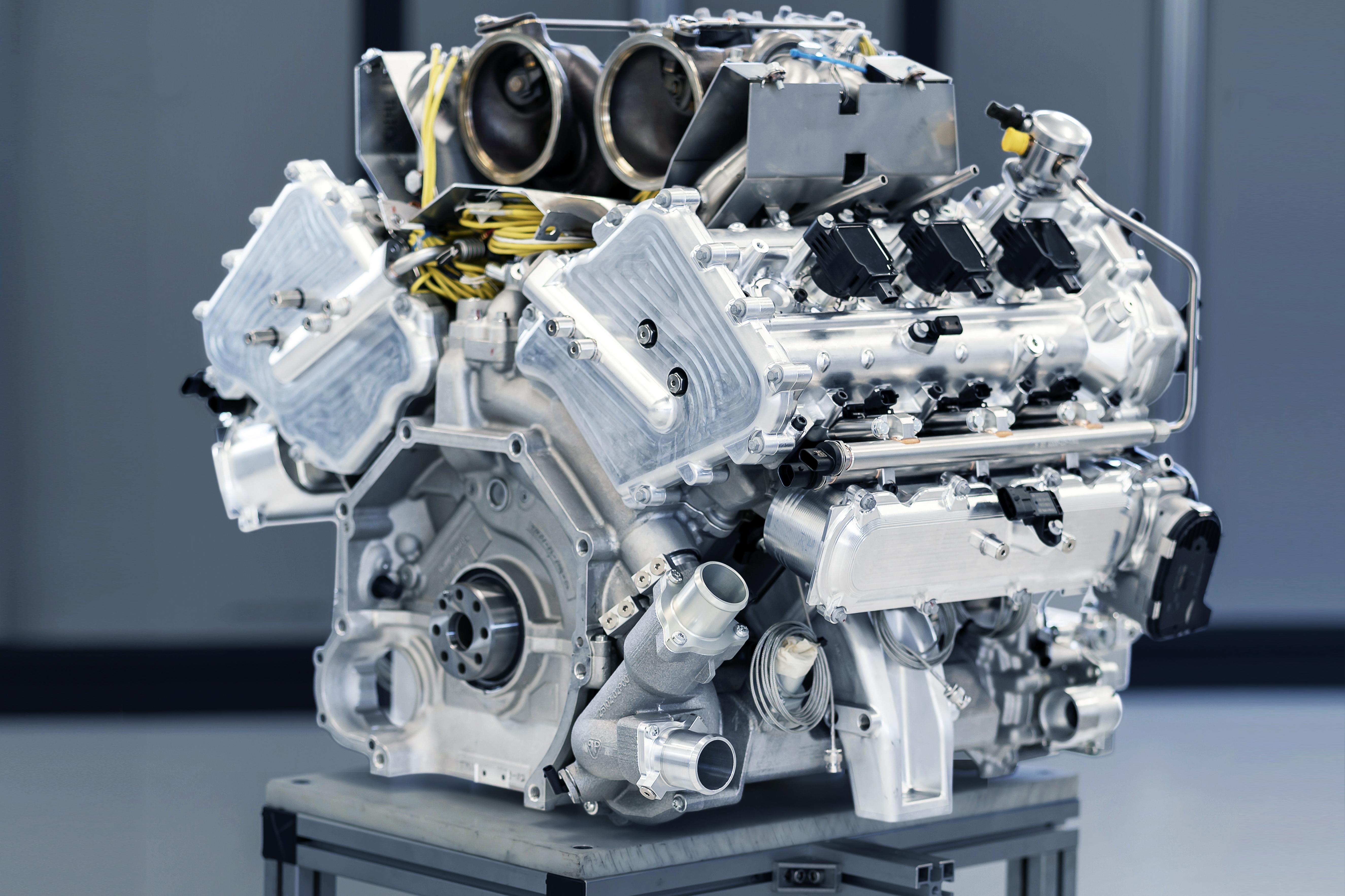 New Aston Martin V6 Engine