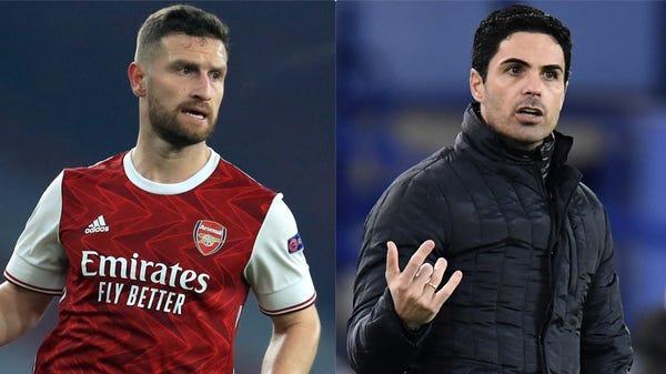 Shkodran Mustafi's 'future right now is here', says Arsenal boss Mikel Arteta