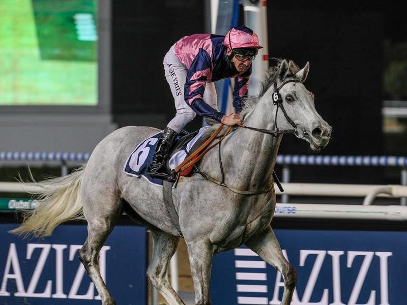 Lord Glitters set up a Dubai Turf bid with victory at Meydan (Dubai Racing Club)