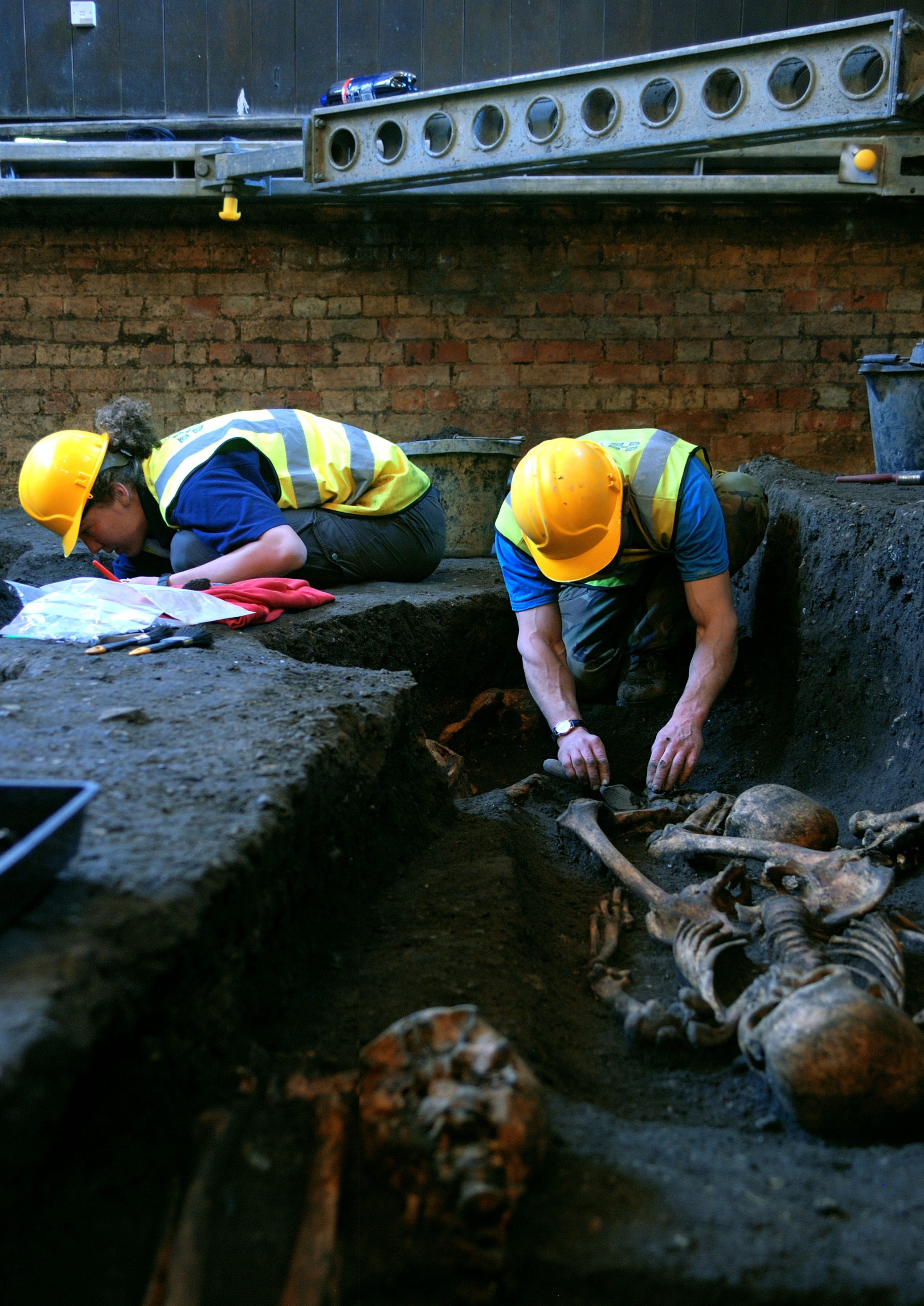 Members of the Cambridge Archaeological Unit