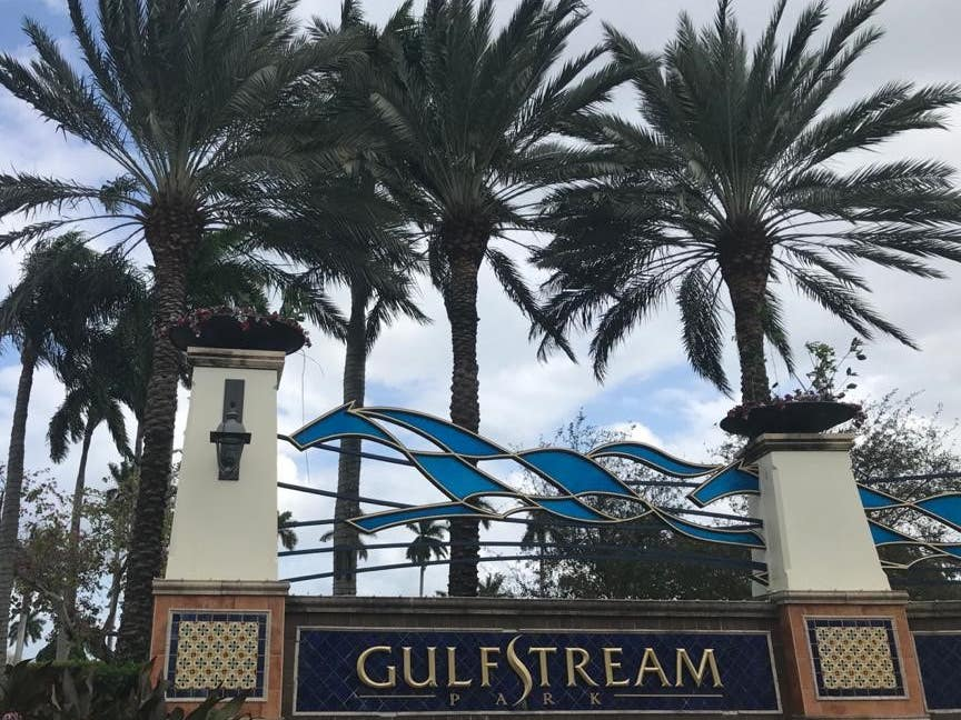 Gulfstream Park is the setting for the Pegasus World Cup (PA)