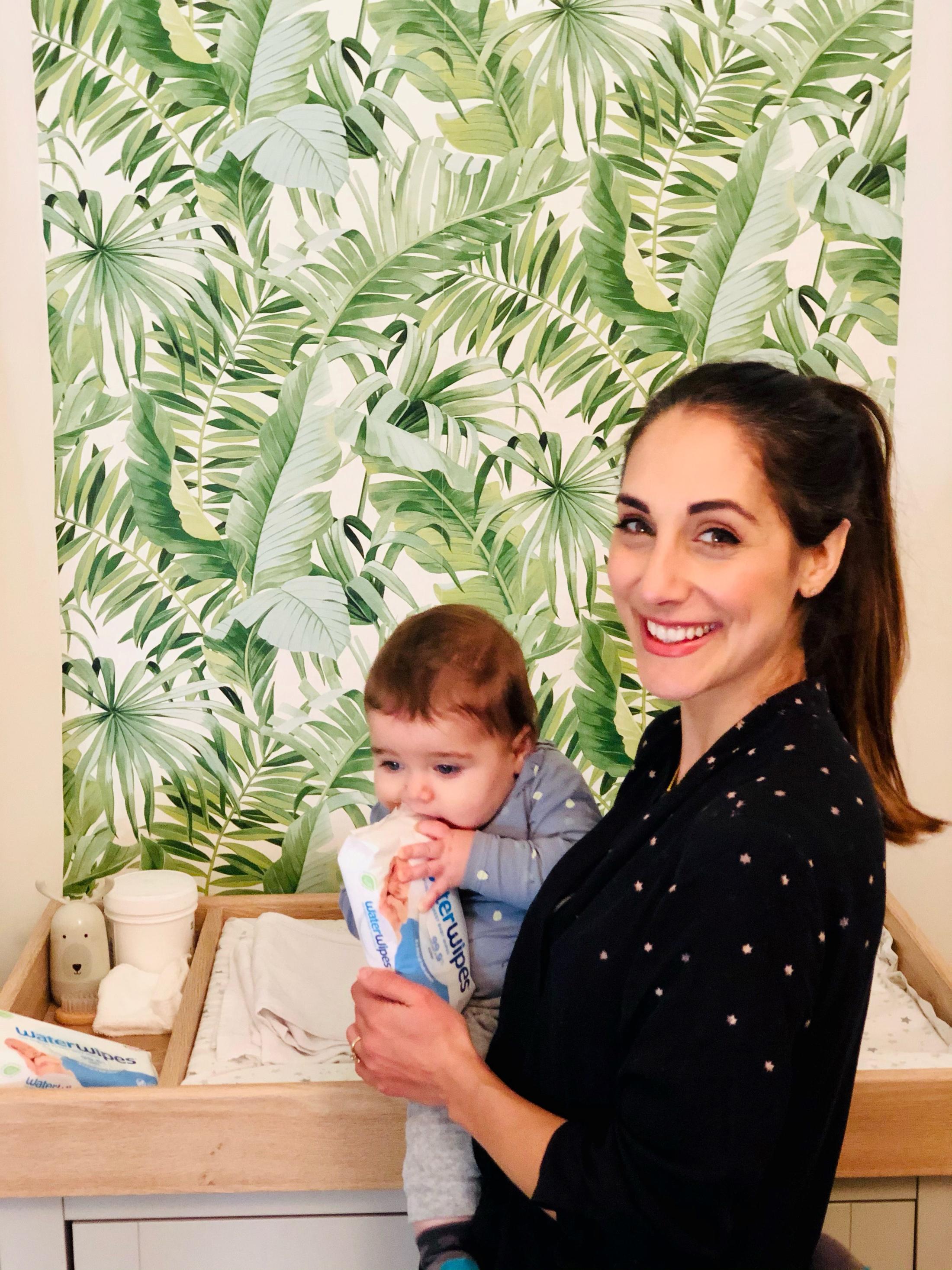 Dr Sara Kayat and her baby boy