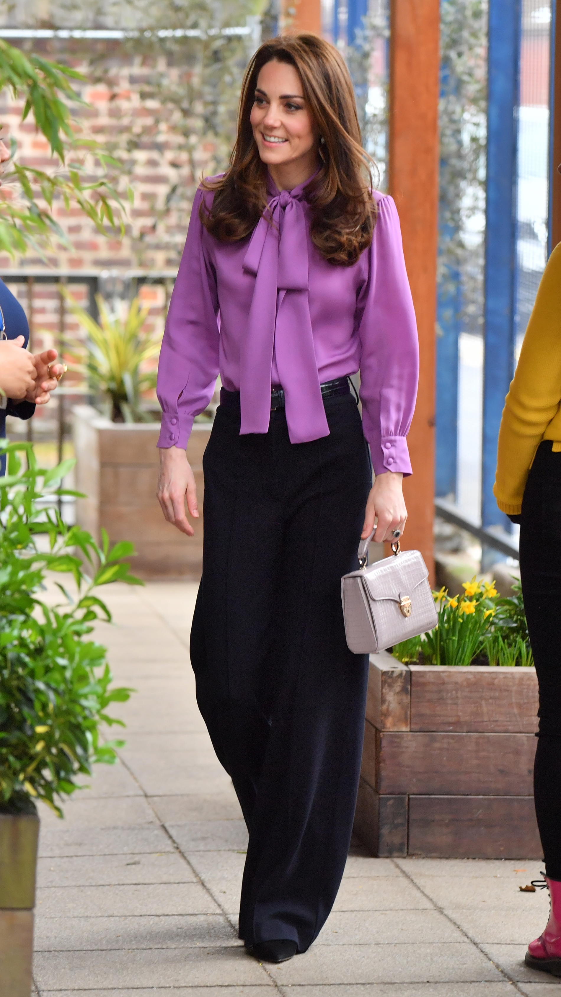 The Duchess of Cambridge during a visit to the Henry Fawcett Children's Centre in Kennington, London