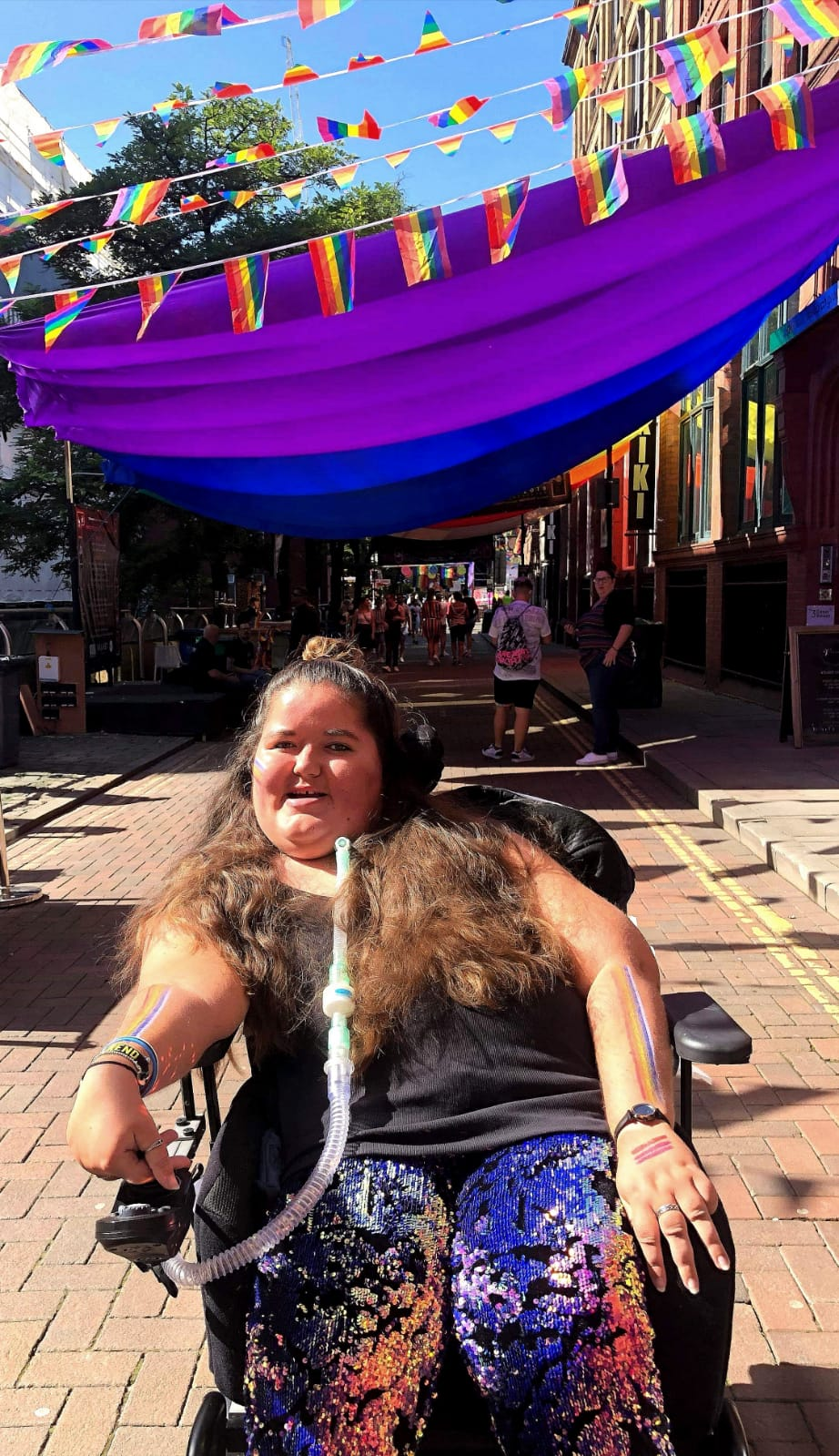 Ginny Butcher, who has muscular dystrophy, is launching a campaign to challenge the idea of vulnerability for disabled women