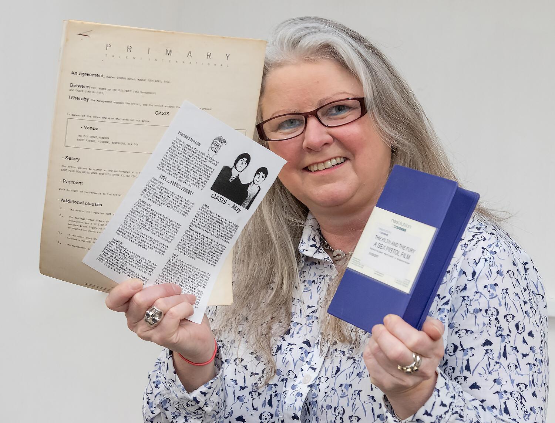 Claire Howell, Hansons' music memorabilia specialist