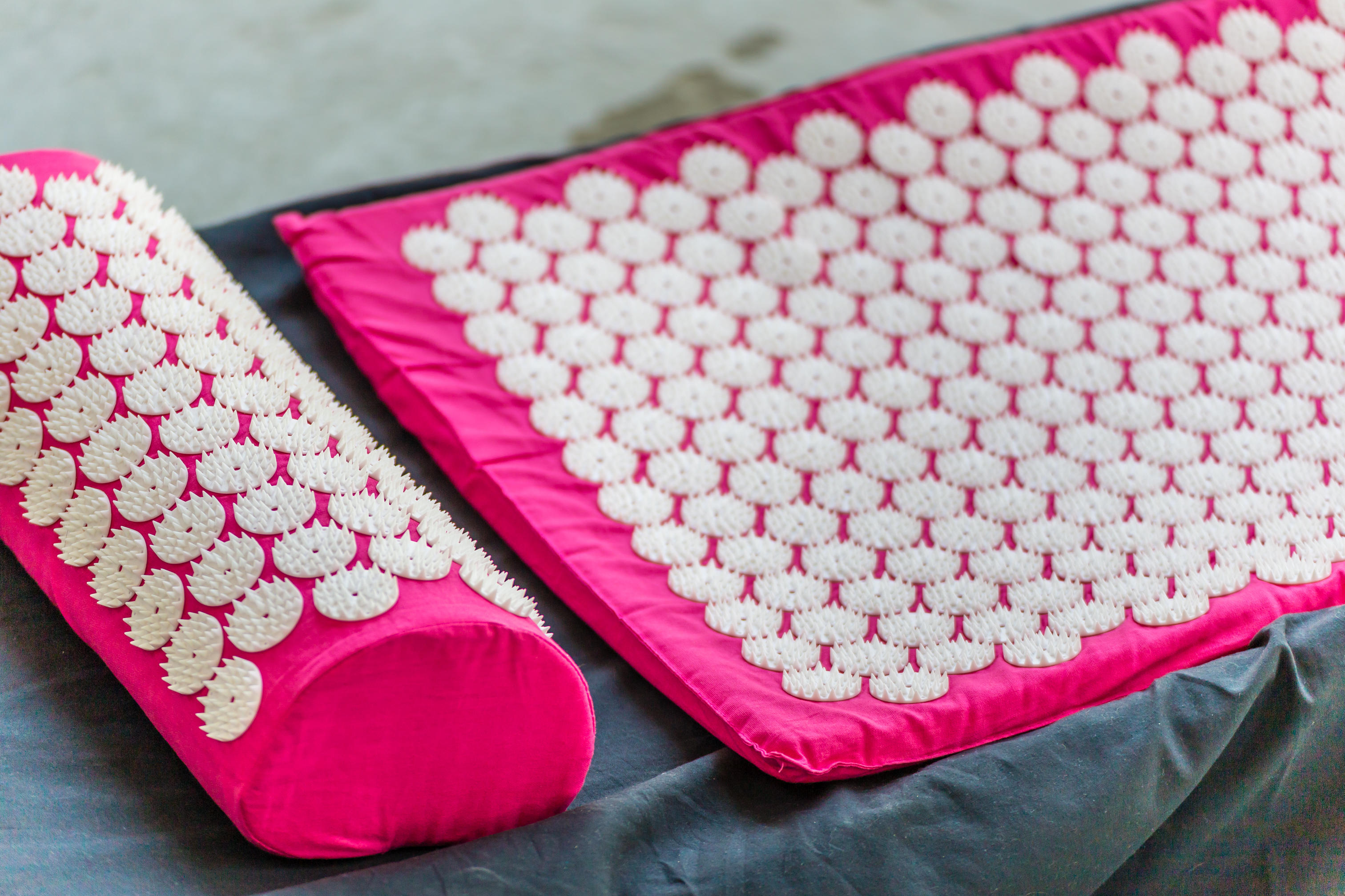 An acupressure mat and pillow (Alamy/PA)
