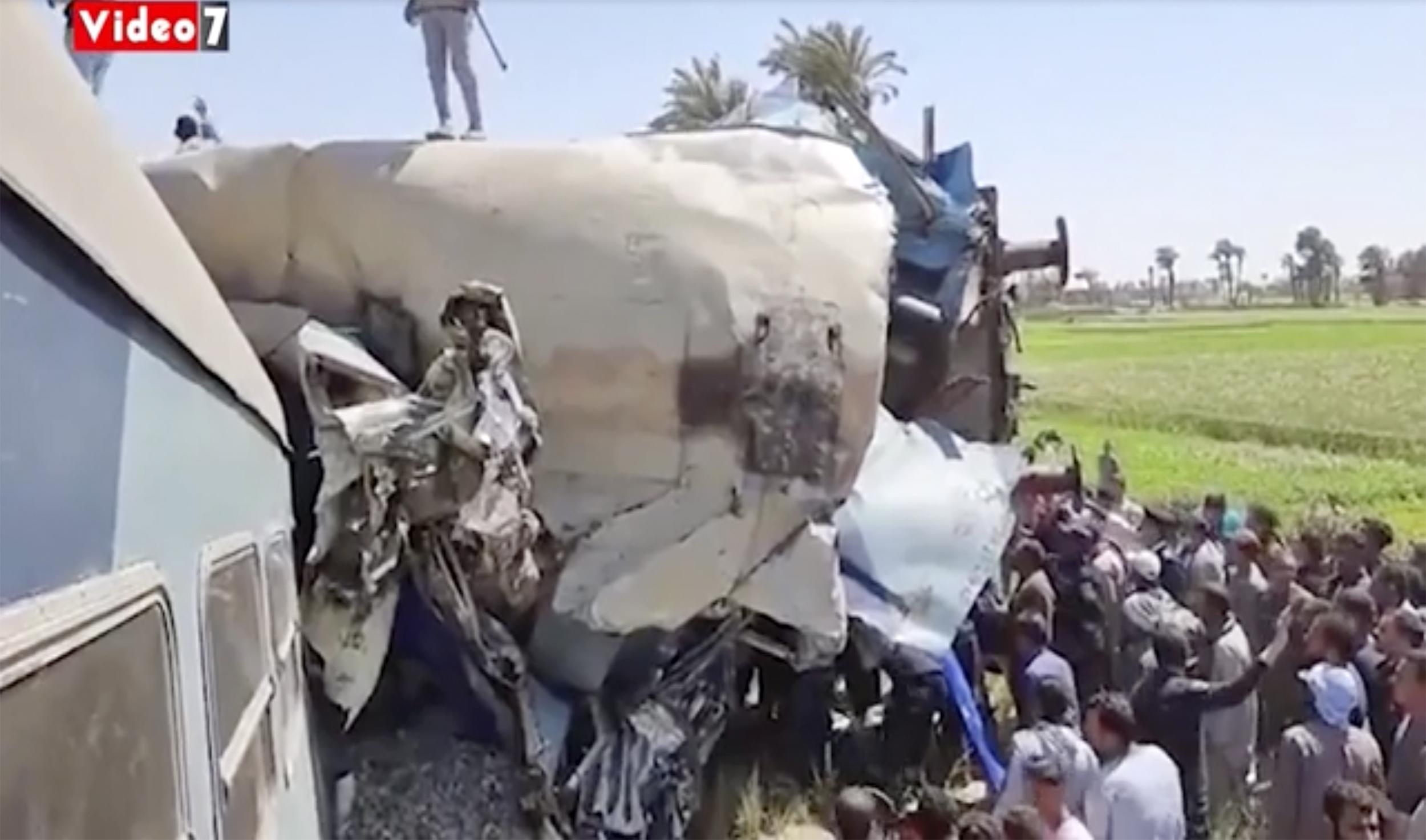 Egypt Train Wreck